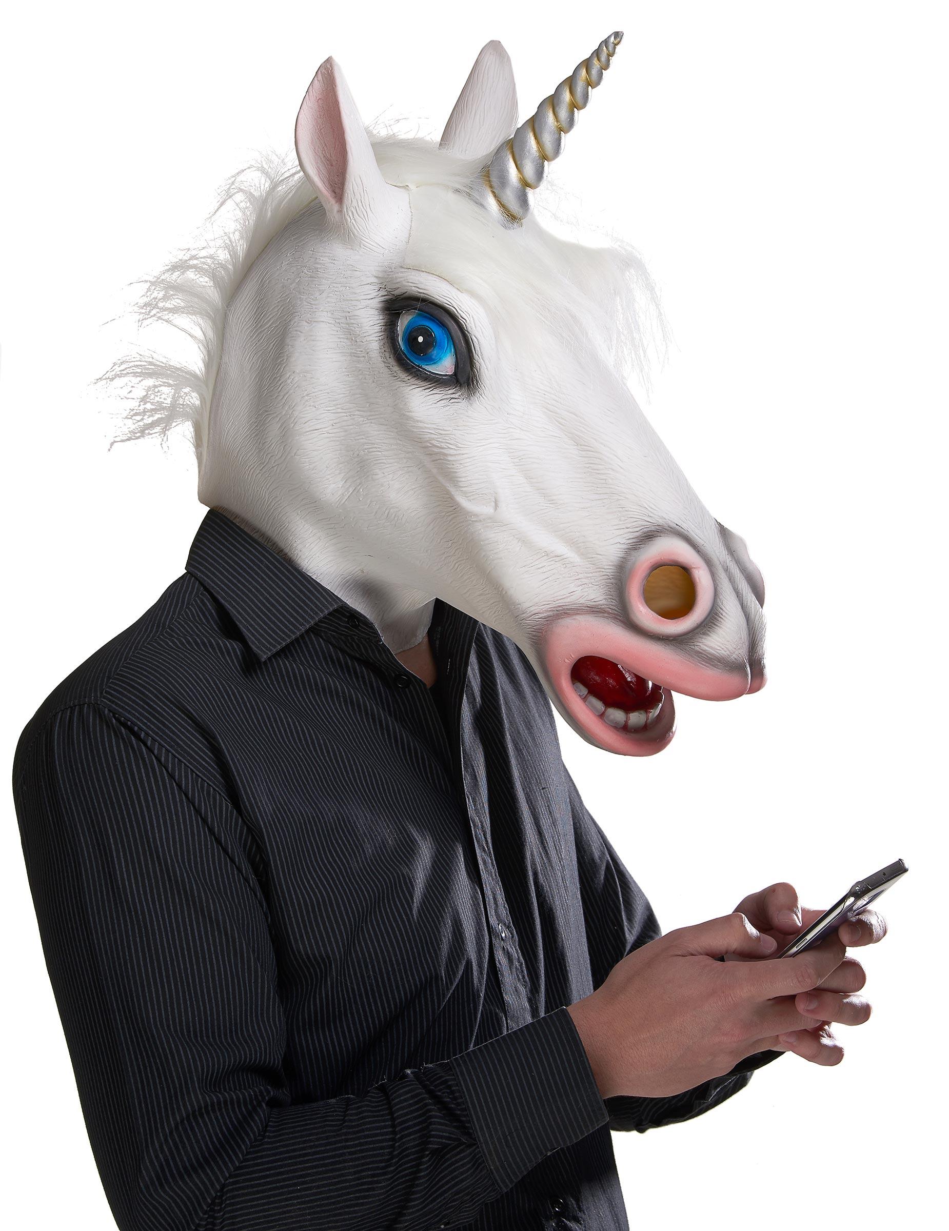 Einhorn-Maske 75398