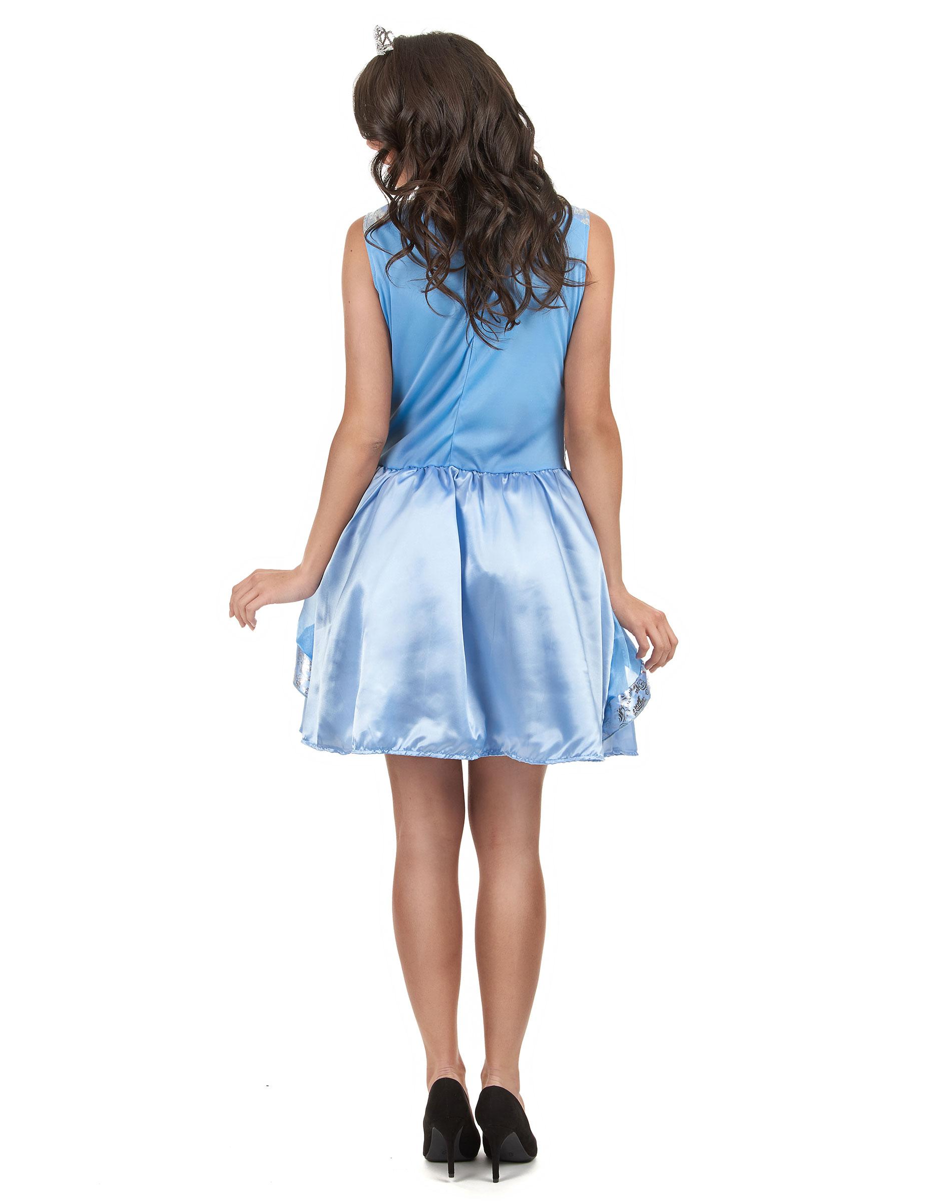sexy blaues prinzessin kost m f r damen kost me f r erwachsene und g nstige faschingskost me. Black Bedroom Furniture Sets. Home Design Ideas