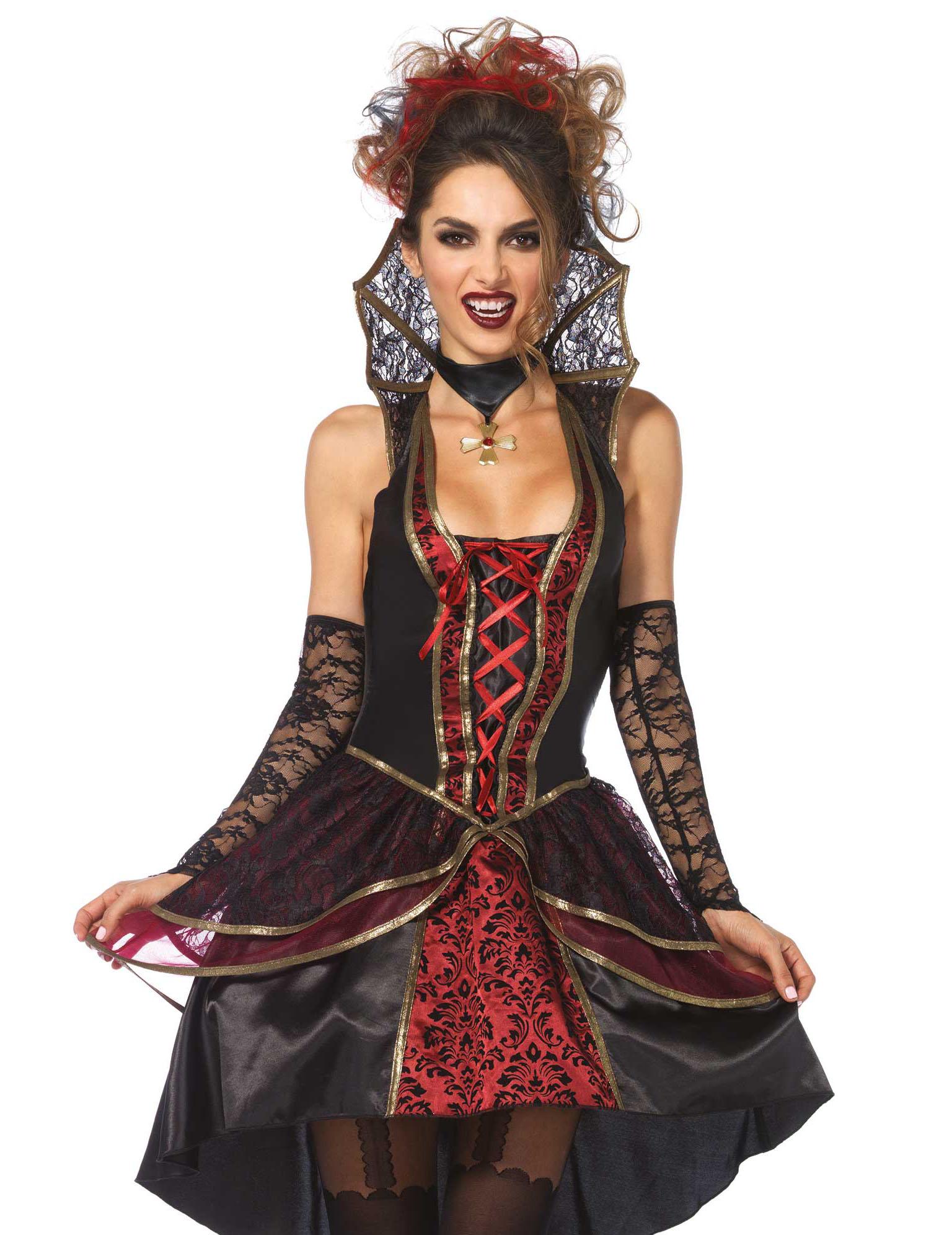 vampir kost m f r frauen kost me f r erwachsene und g nstige faschingskost me vegaoo. Black Bedroom Furniture Sets. Home Design Ideas