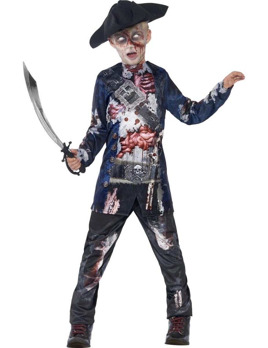 halloween zombie kost m piratenjunge kost me f r kinder. Black Bedroom Furniture Sets. Home Design Ideas