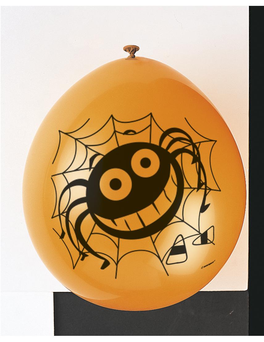 10 halloween luftballons mit spinnennetz partydeko und g nstige faschingskost me vegaoo. Black Bedroom Furniture Sets. Home Design Ideas