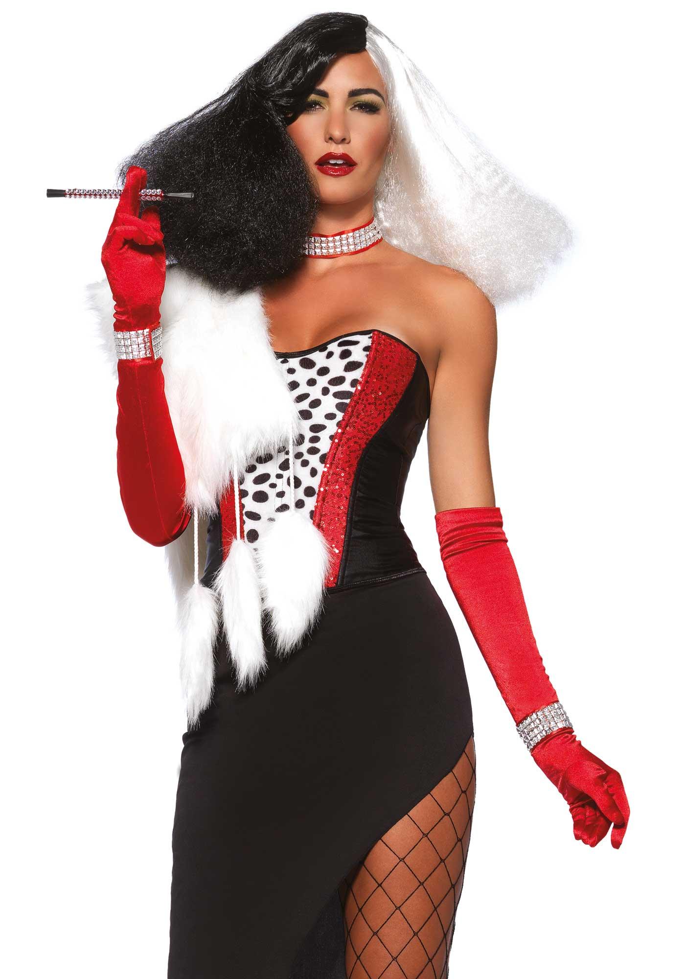 Cruella De Vil Kostum Fur Damen Kostume Fur Erwachsene Und Gunstige