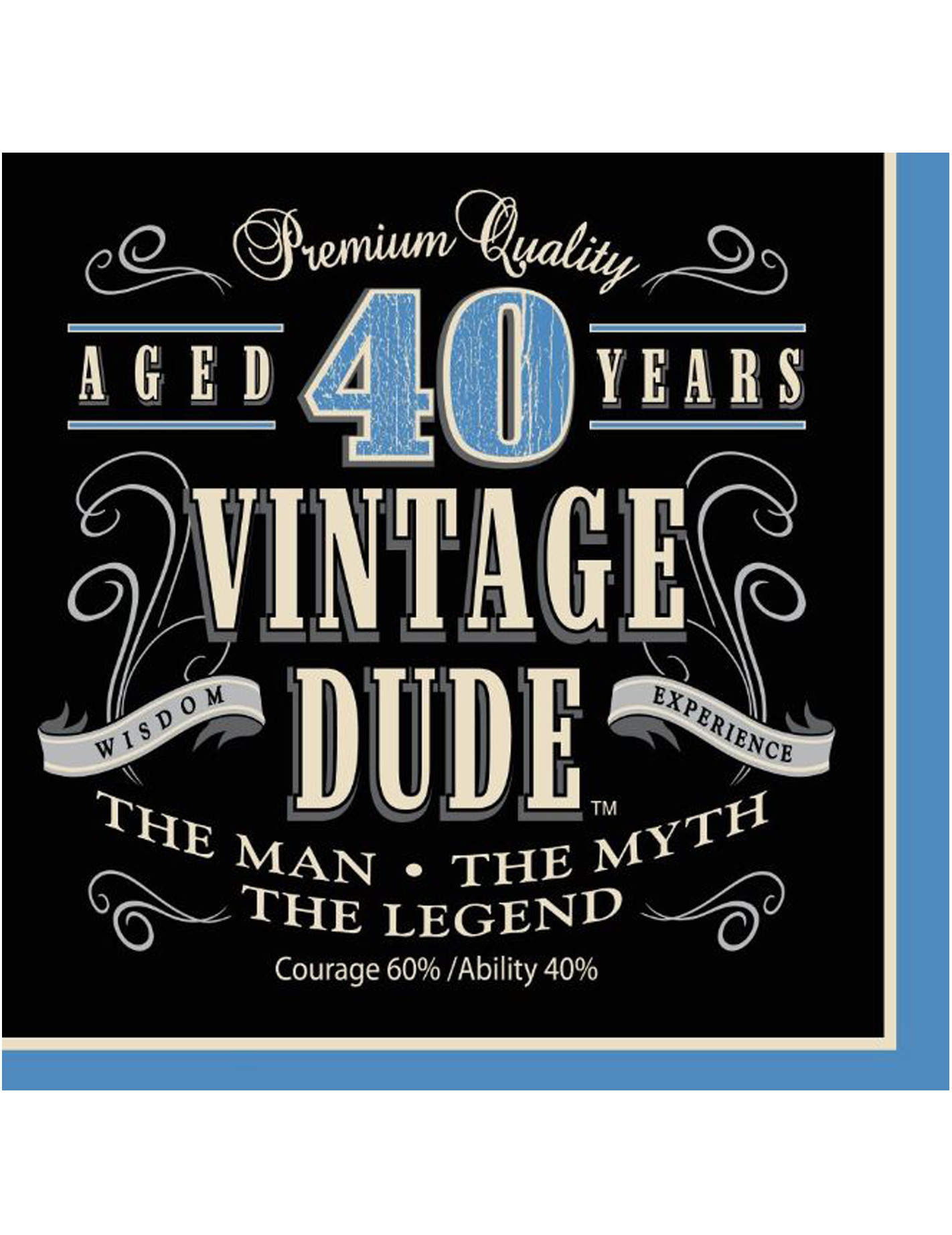 Geburtstag vintage