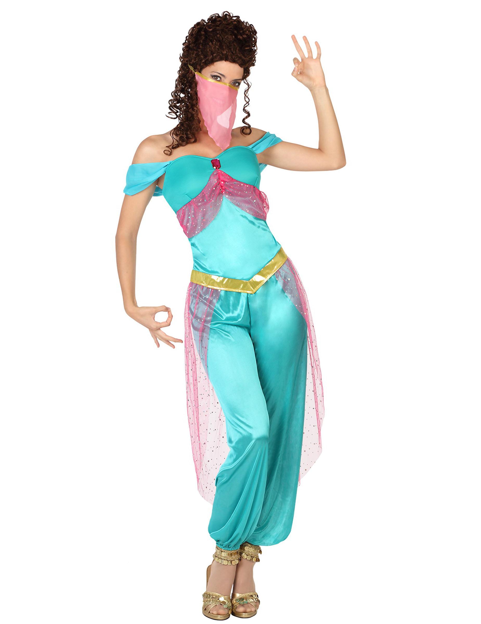 Orientalische Bauchtanzerin Kostum Fur Frauen