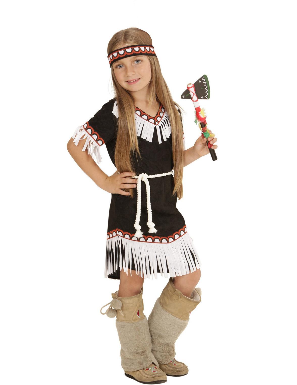 Indianerin Kostum Fur Madchen Kostume Fur Kinder Und Gunstige