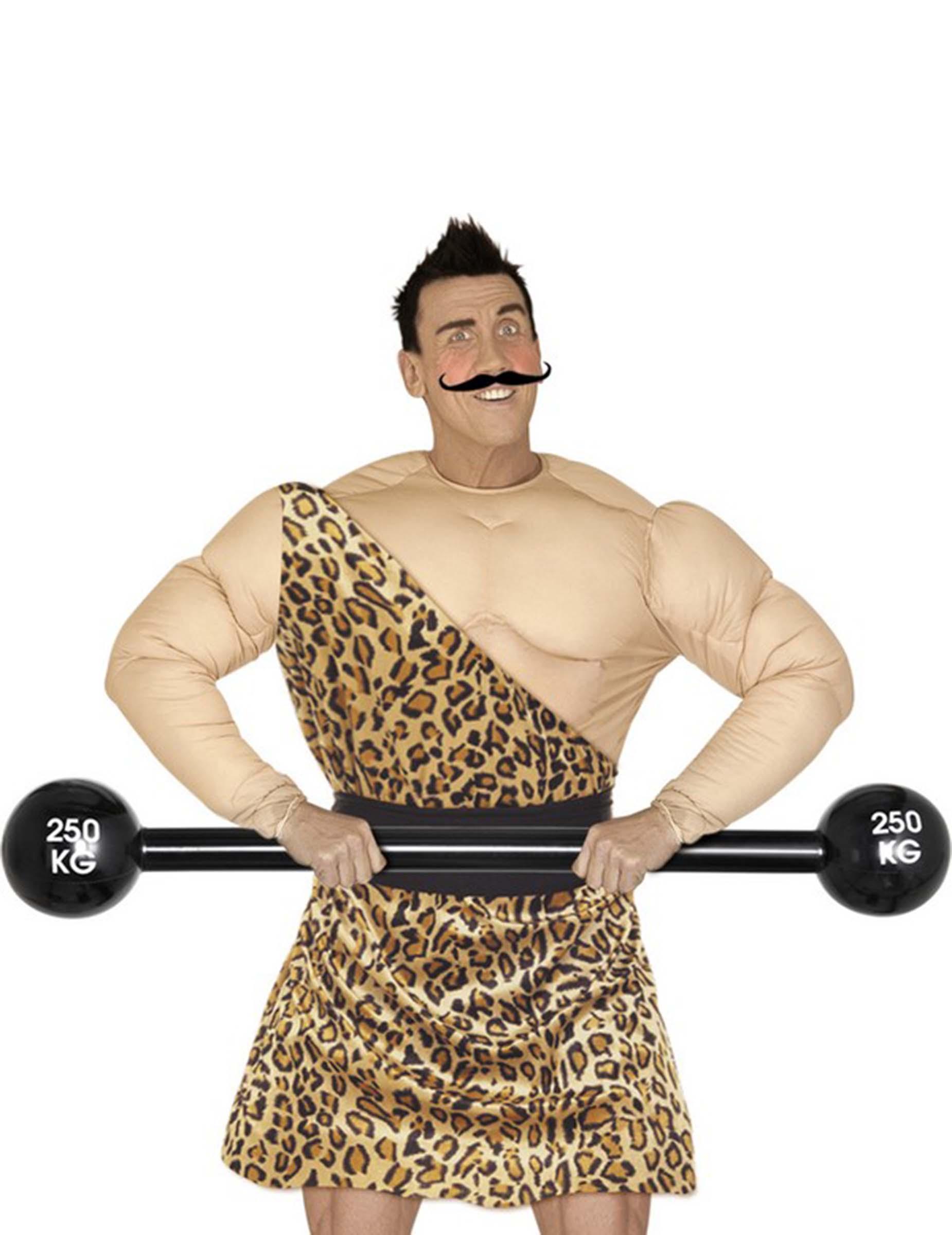 Falscher Männer-Torso mit vielen Muskeln: Kostüme für