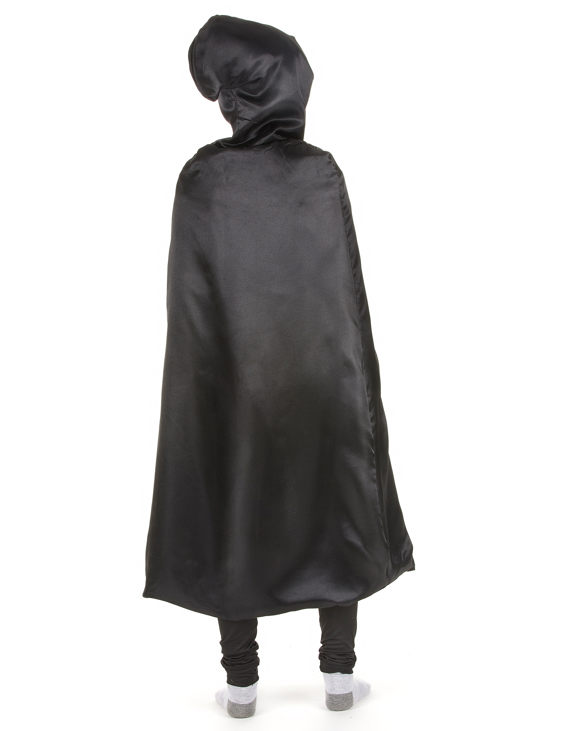 schwarzer umhang mit kapuze accessoires und g nstige. Black Bedroom Furniture Sets. Home Design Ideas