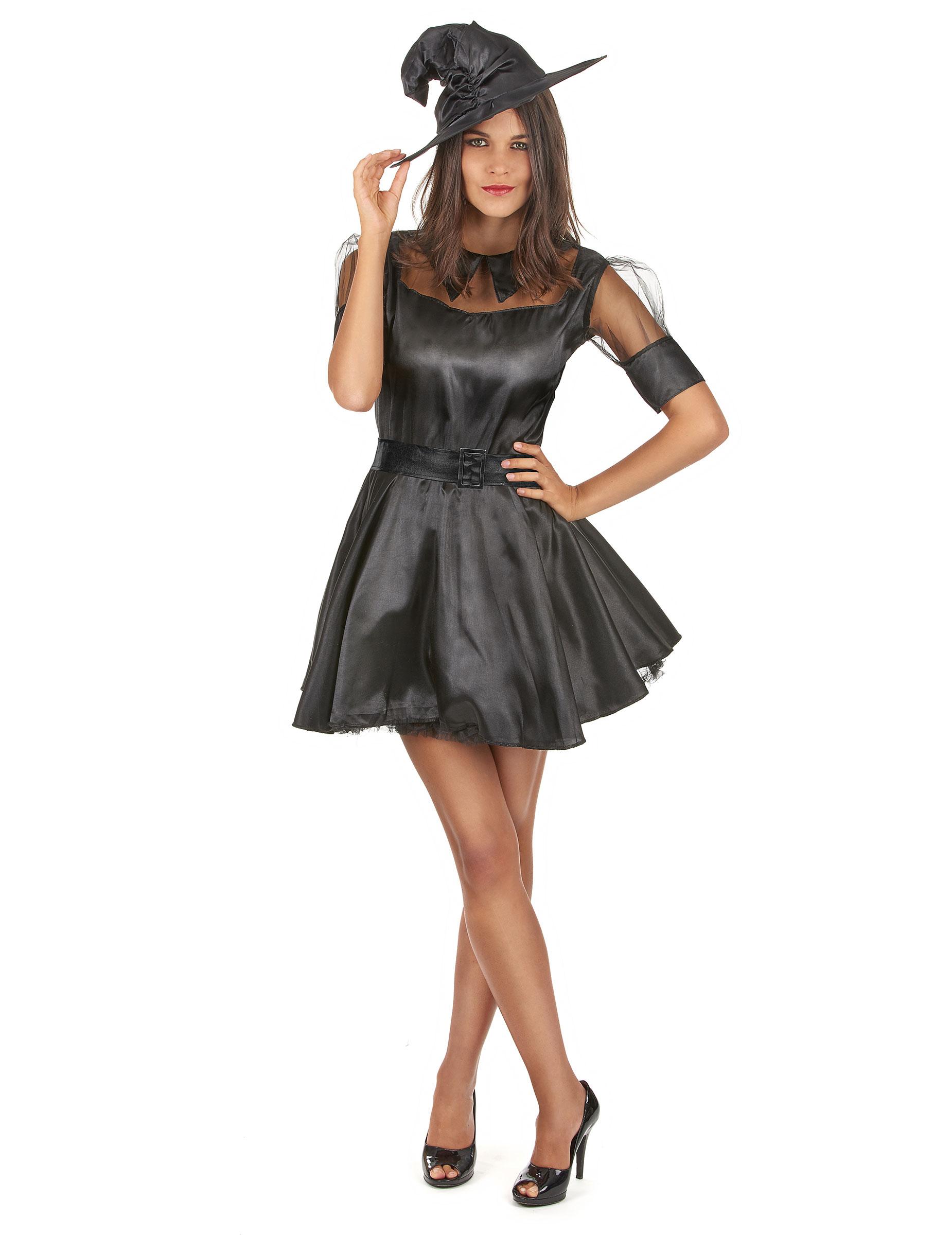 kleines schwarzes halloween kost m f r die modebewusste. Black Bedroom Furniture Sets. Home Design Ideas