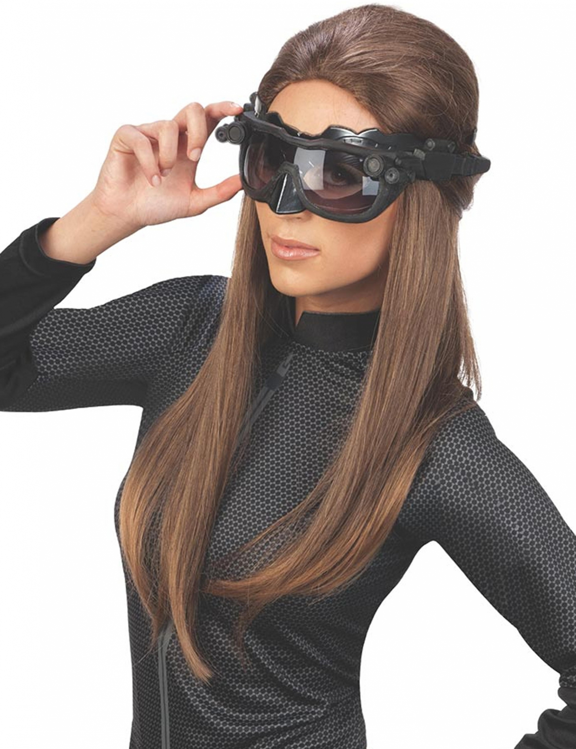 hochwertige catwoman halb maske f r erwachsene. Black Bedroom Furniture Sets. Home Design Ideas