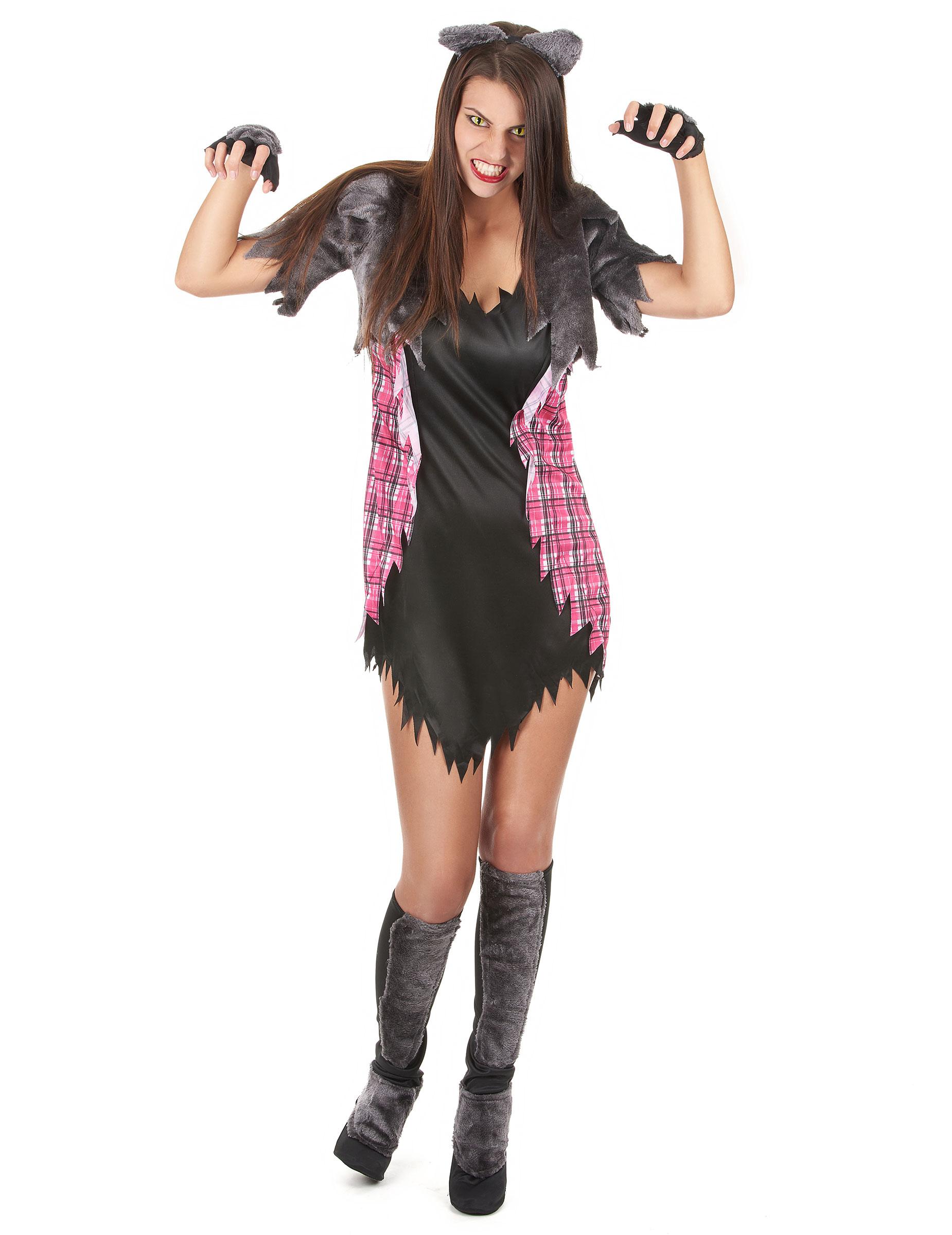 halloween werwolfverkleidung f r frauen. Black Bedroom Furniture Sets. Home Design Ideas