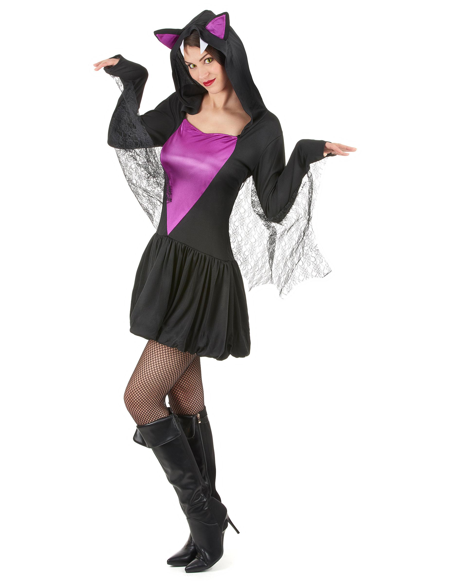 vampirfledermaus kost m f r frauen kost me f r erwachsene und g nstige faschingskost me vegaoo. Black Bedroom Furniture Sets. Home Design Ideas