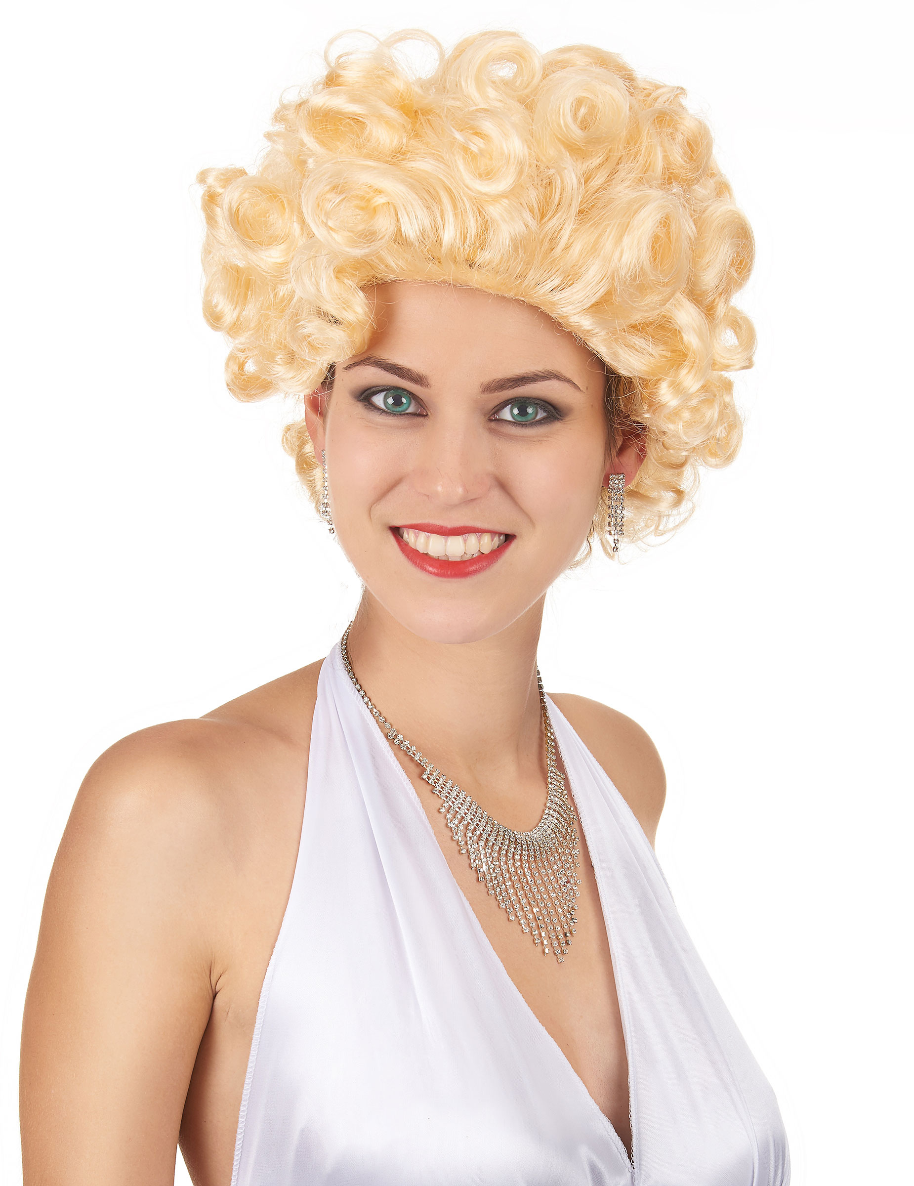Blonde Kurzhaar Hollywood Perucke Fur Damen Perucken Und Gunstige