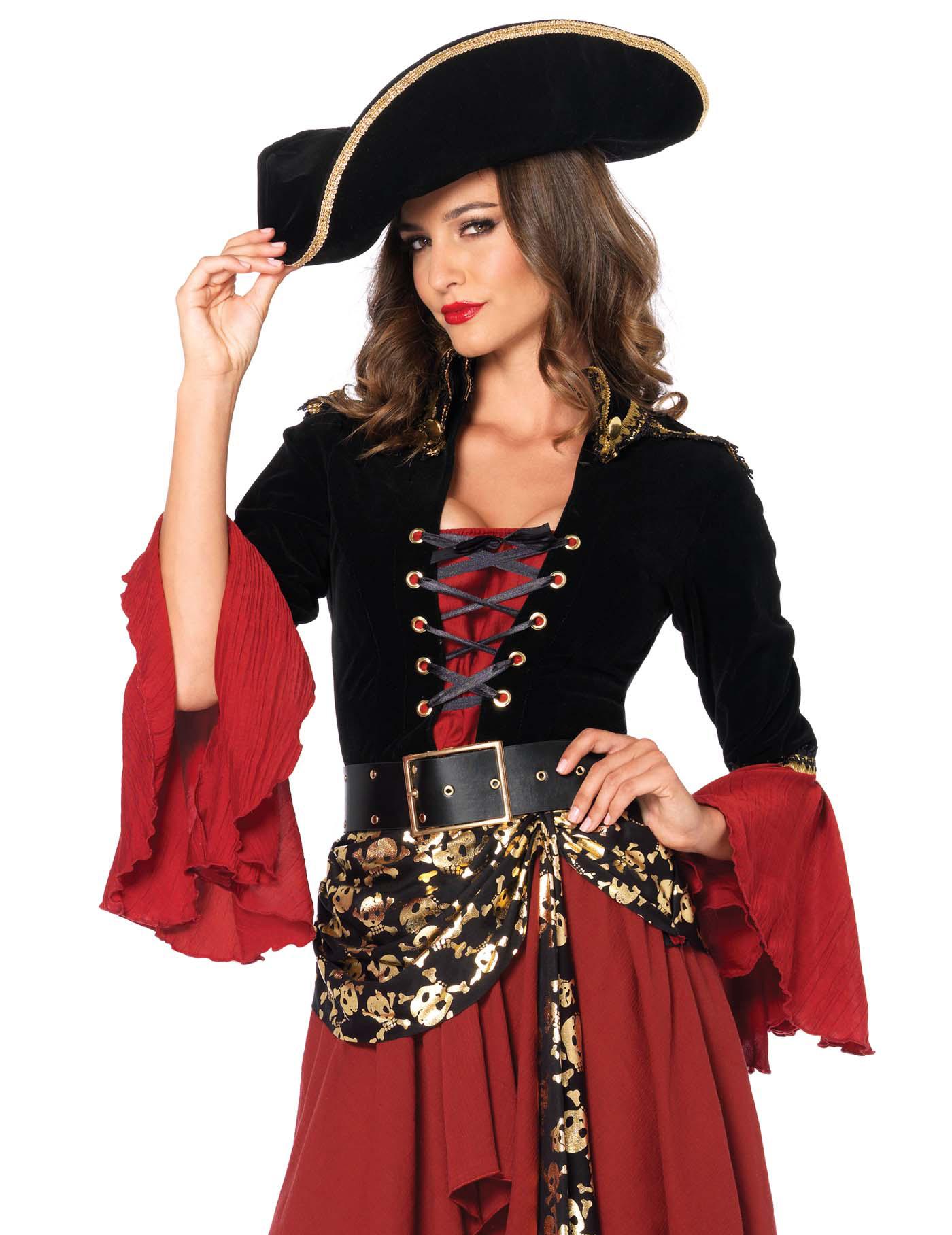 Elegantes Piraten Kostüm Für Frauen