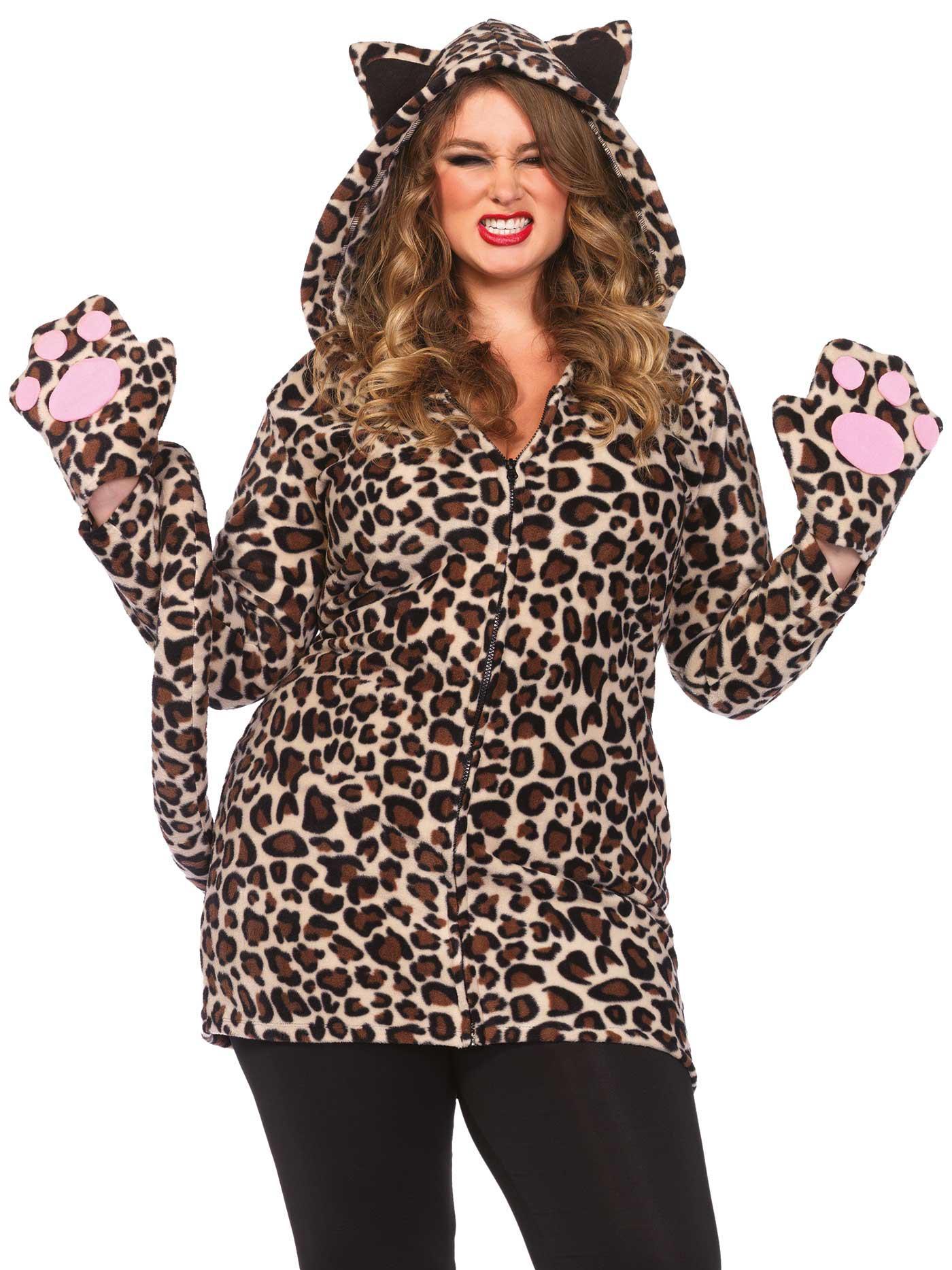 leoparden kost m f r damen in gro er gr e kost me f r erwachsene und g nstige faschingskost me. Black Bedroom Furniture Sets. Home Design Ideas