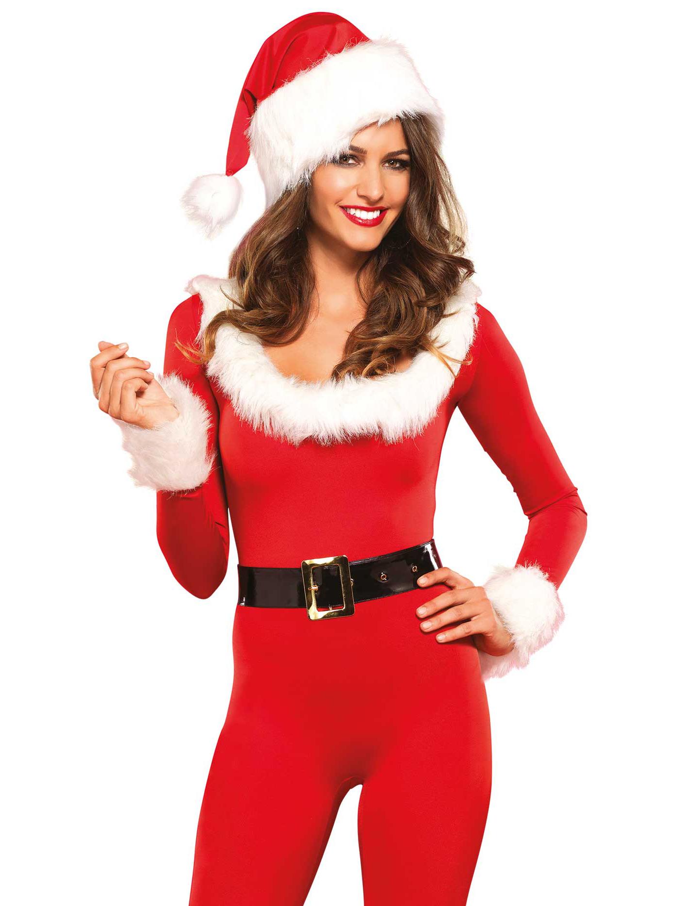 hochwertiges weihnachtsfrau kost m mit accessoires. Black Bedroom Furniture Sets. Home Design Ideas