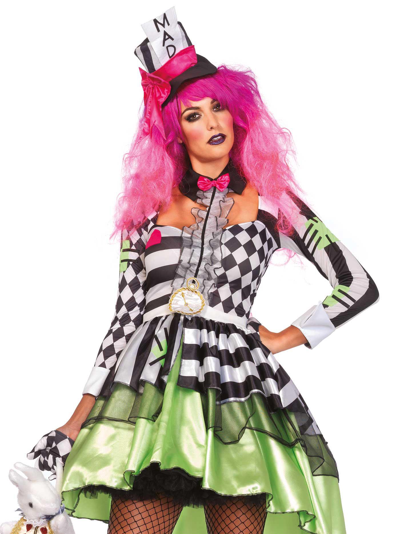 Verrückter Hutmacher Verkleidung für Frauen: Kostüme für Erwachsene ...