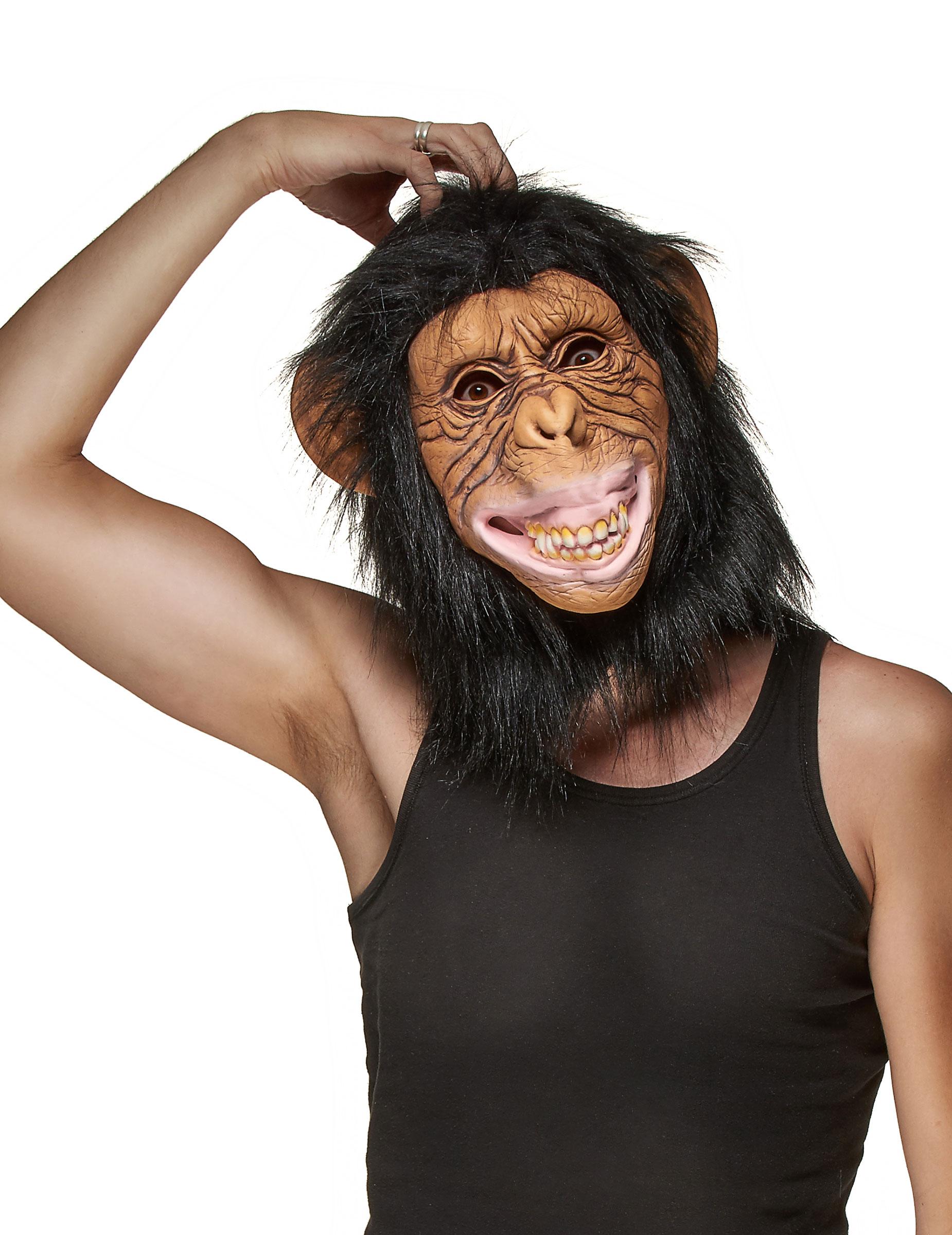 Affen Maske für Erwachsene 80161