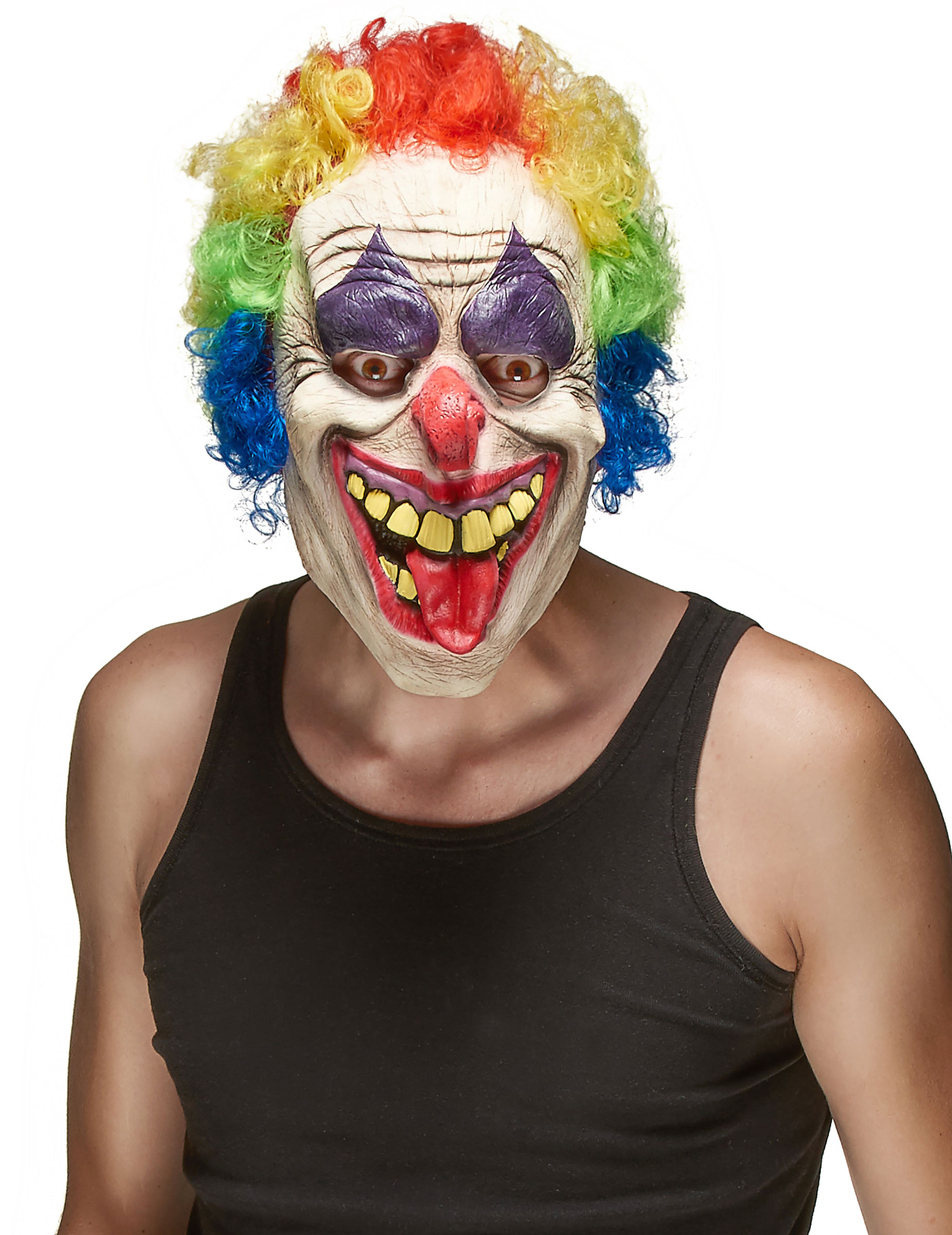 Clown-Maske Latex Erwachsene 80164