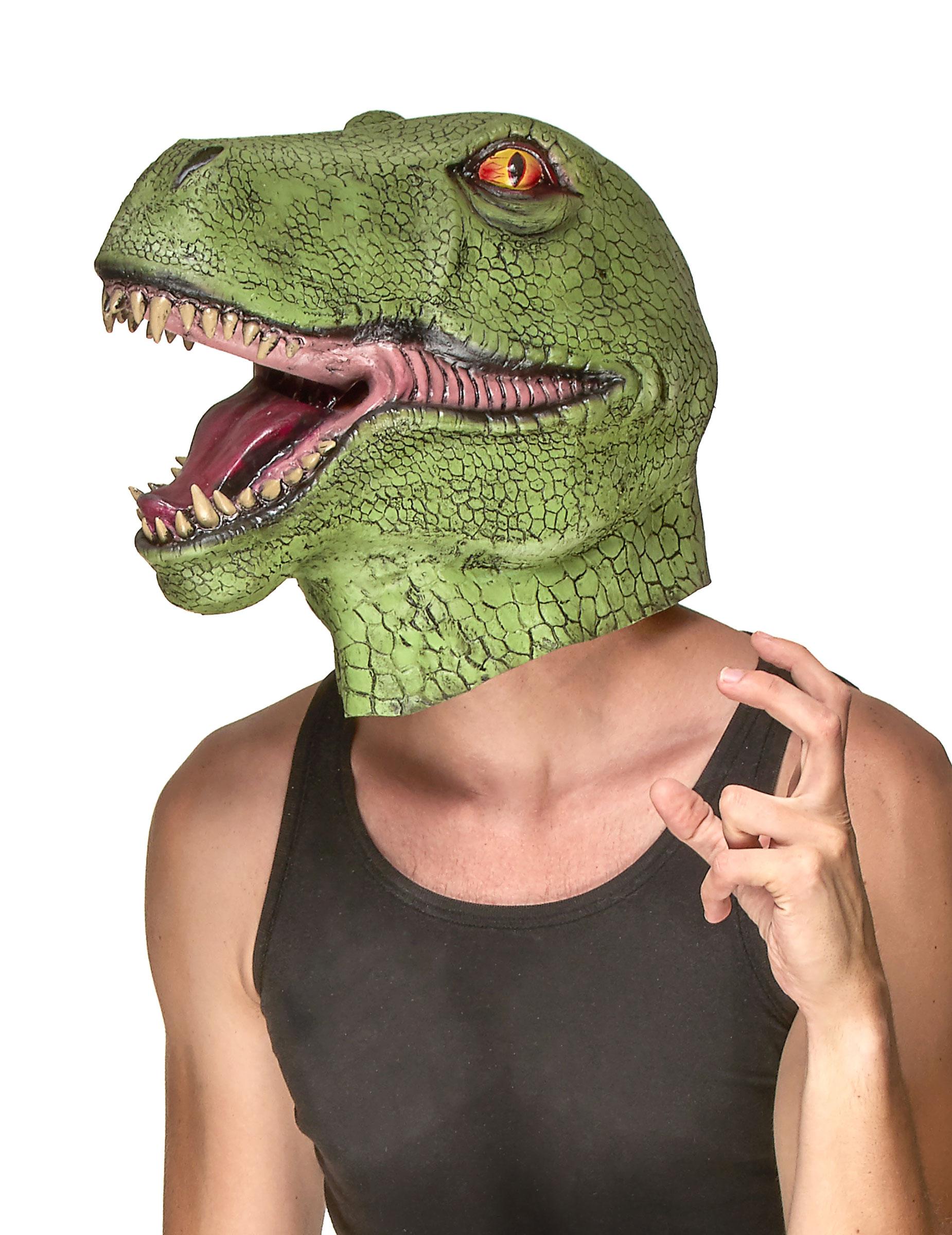 Dinosaurier Maske für Erwachsene 80186