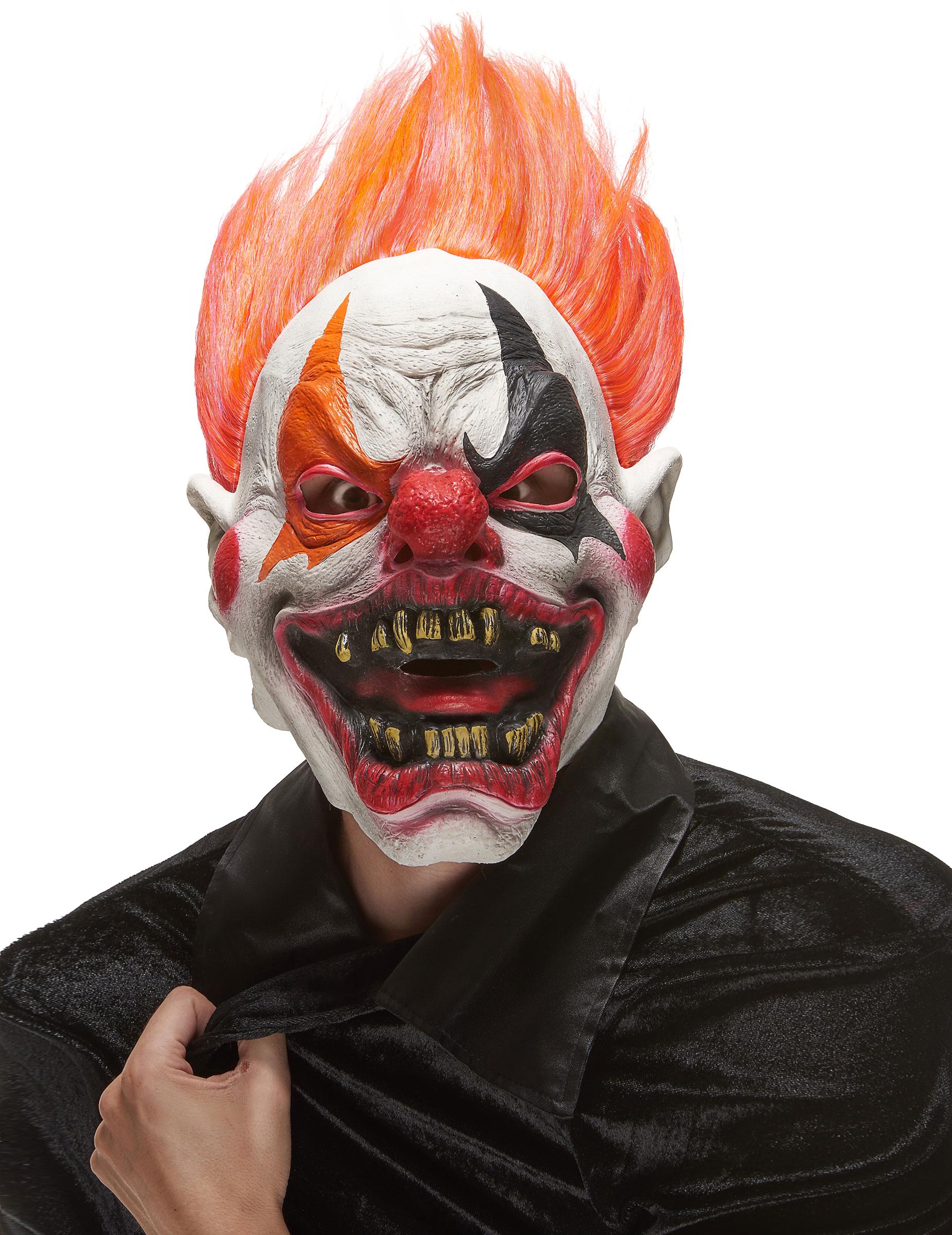 Clown Maske aus der Hölle für Erwachsene 80192