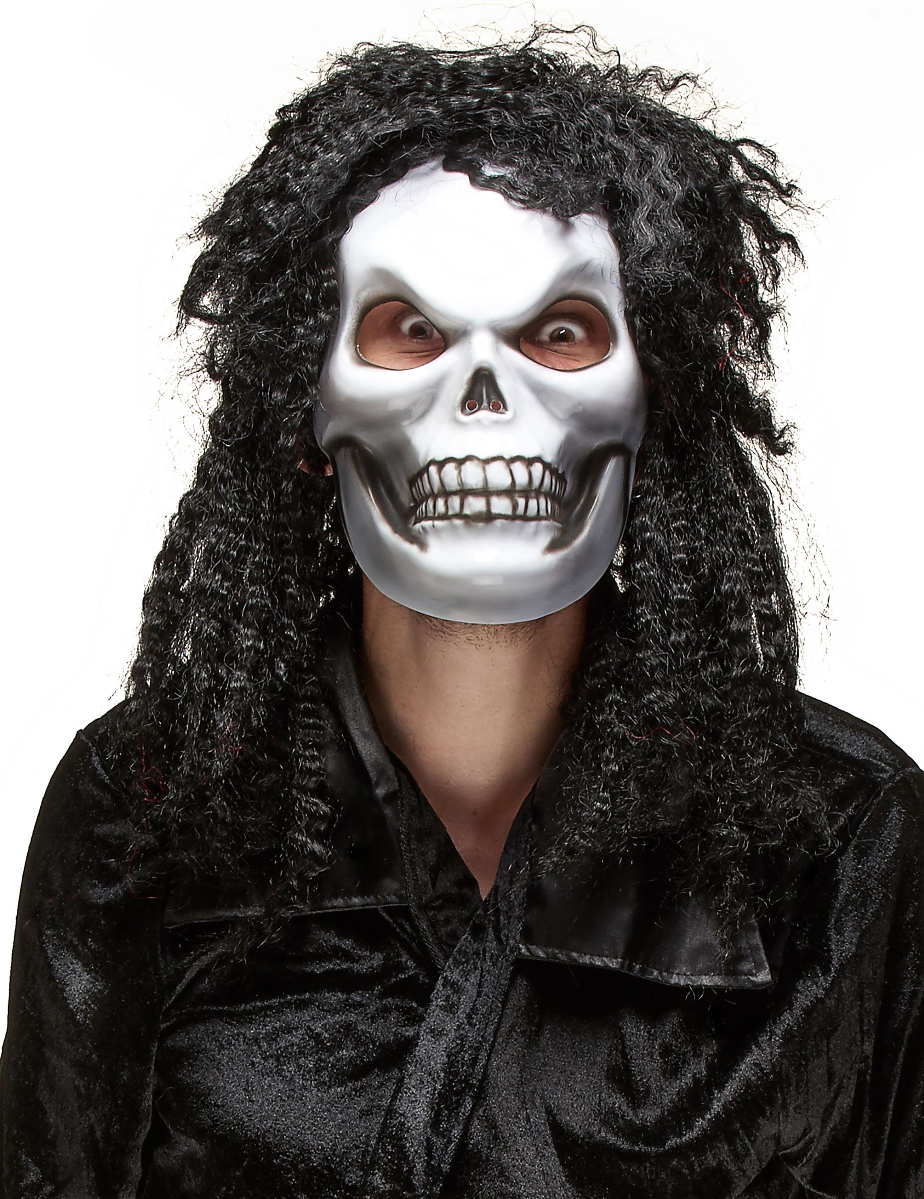 halloween maske f r erwachsene haariger kopf masken und. Black Bedroom Furniture Sets. Home Design Ideas