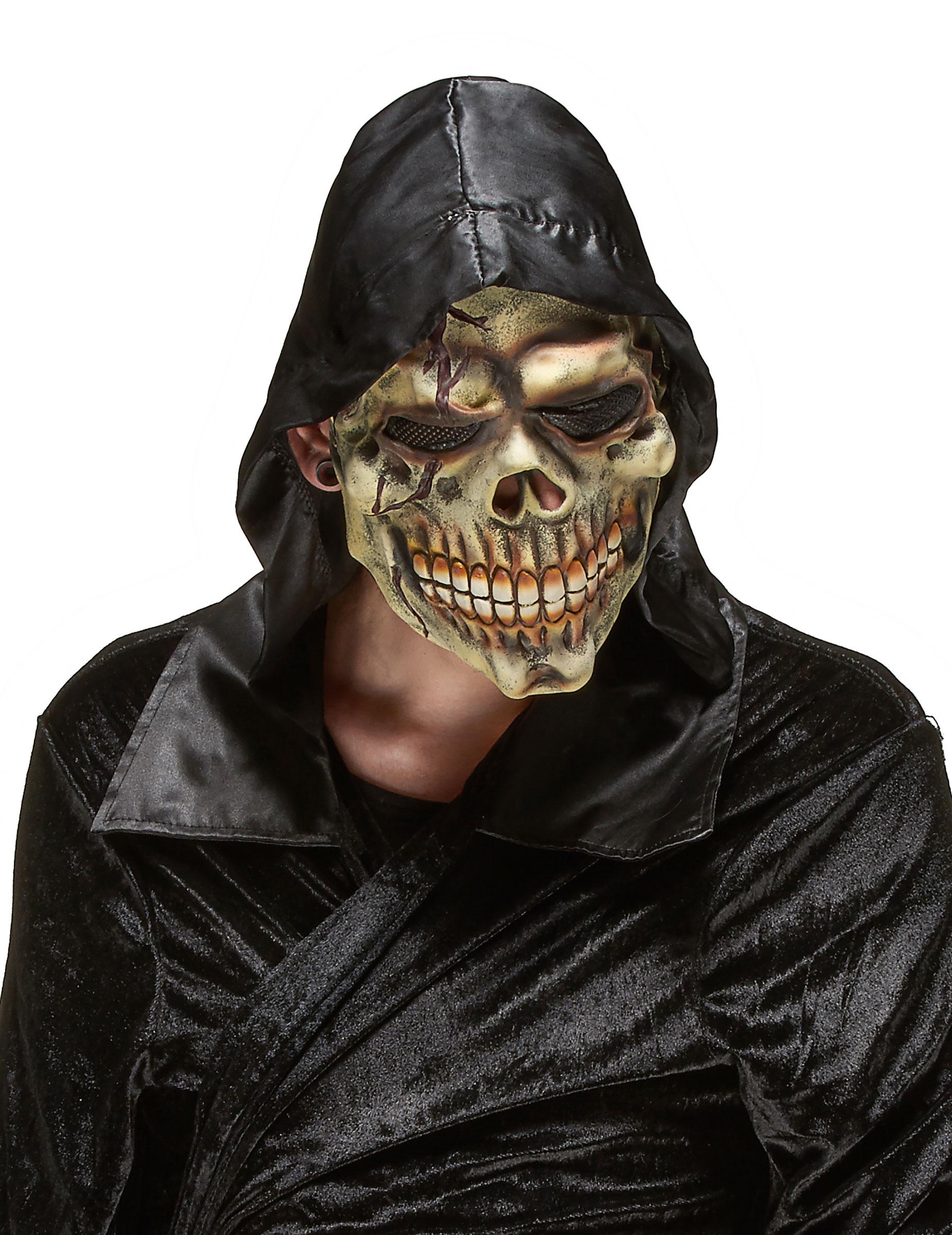 halloween maske aus latex f r erwachsene masken und. Black Bedroom Furniture Sets. Home Design Ideas