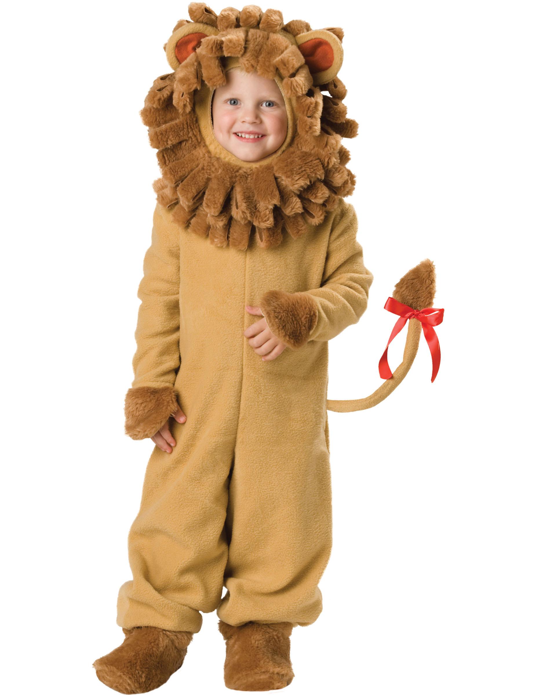 König der Tiere Kostüm Löwe Kinder