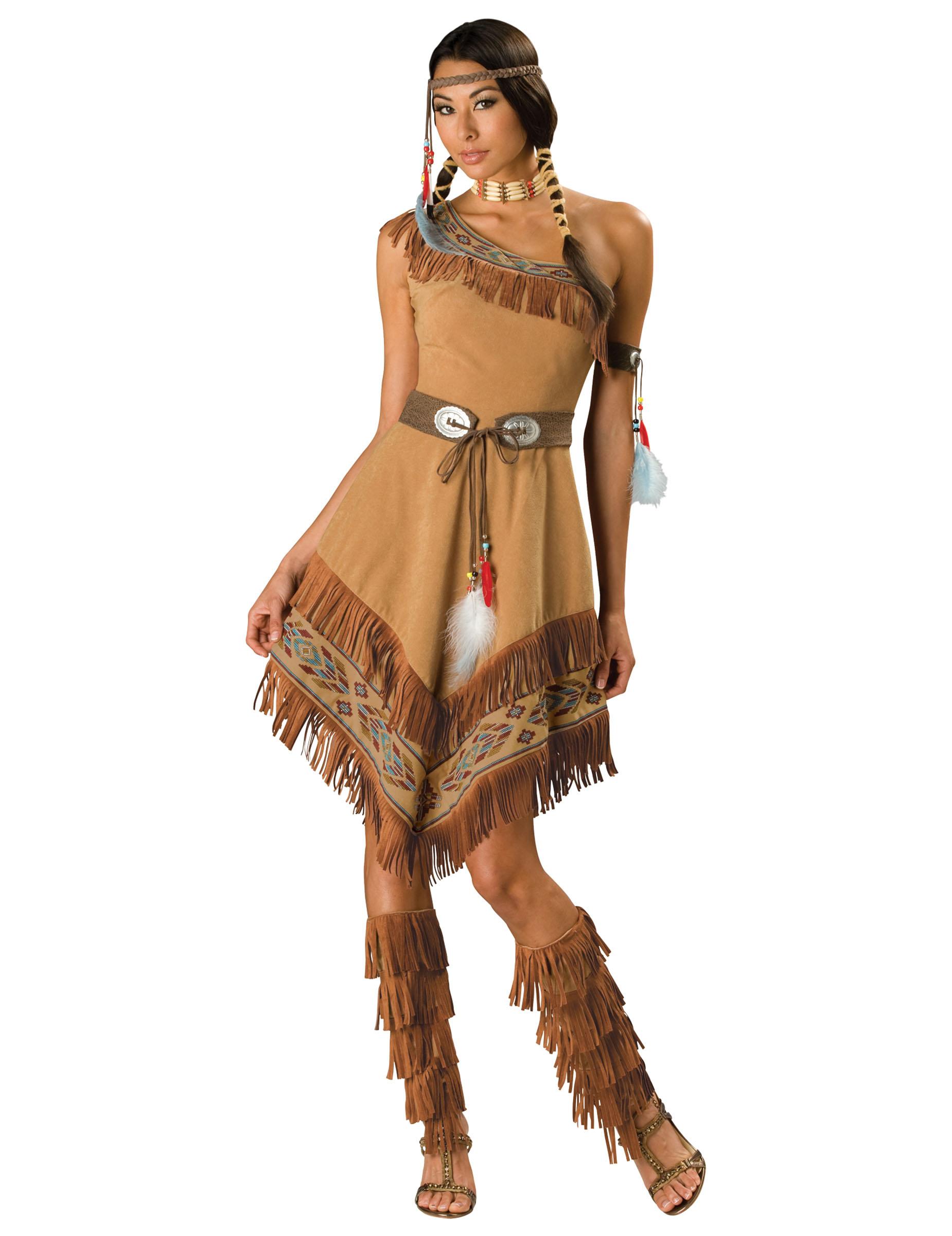 Hochwertiges Indianerinnen Kostum Fur Frauen
