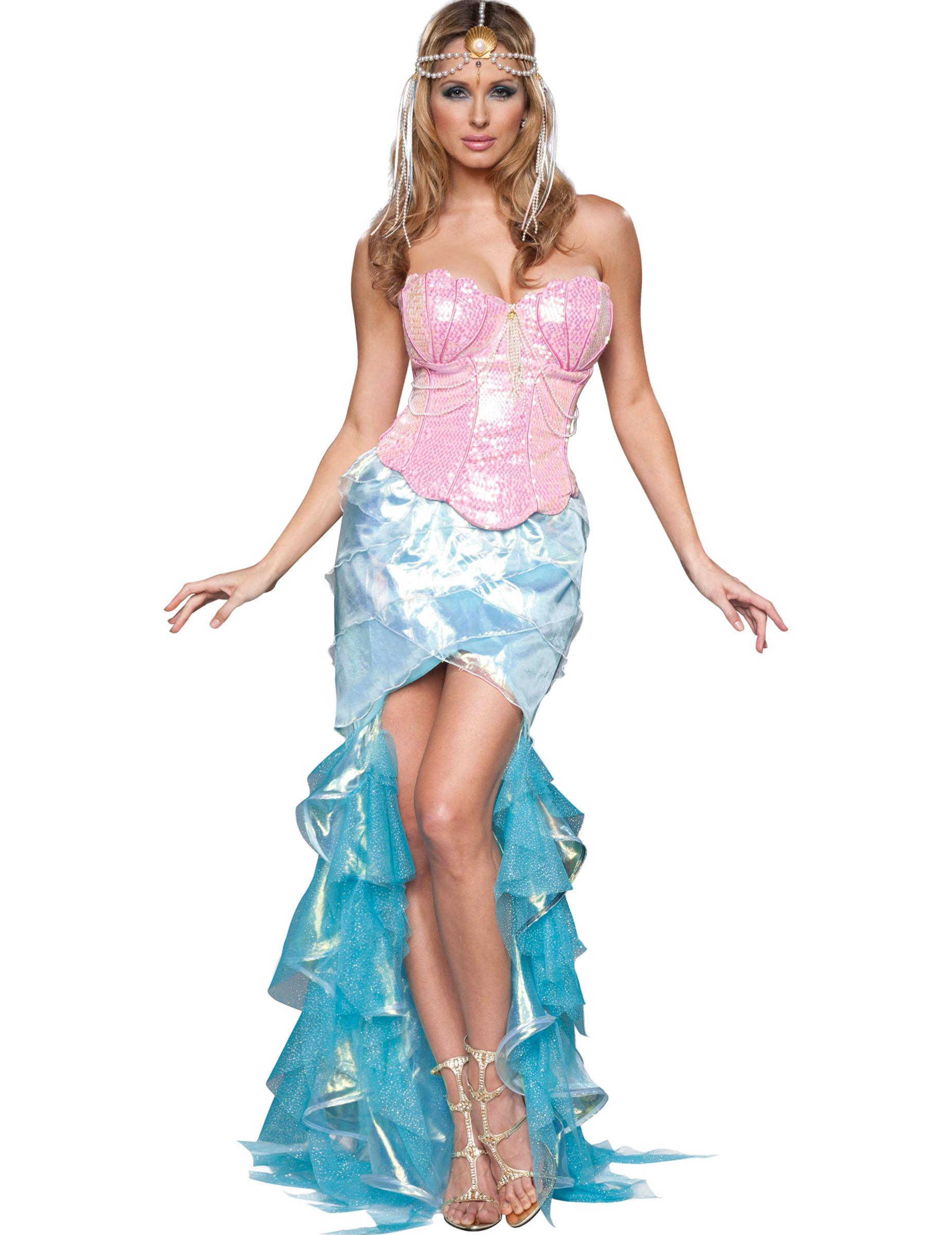Premium Meerjungfrauen Kostum Fur Damen Kostume Fur Erwachsene Und