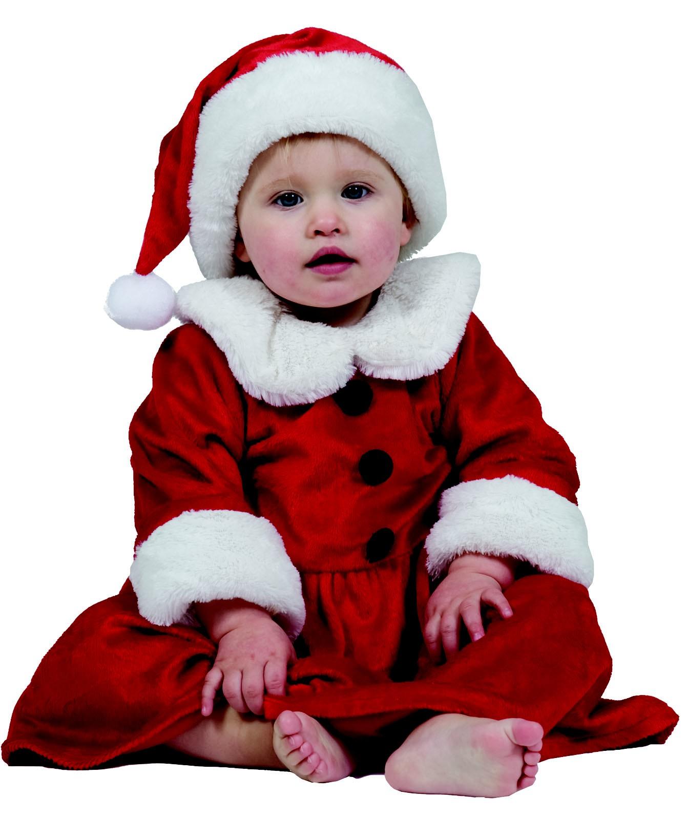 weiches weihnachtsfrau kost m f r m dchen. Black Bedroom Furniture Sets. Home Design Ideas