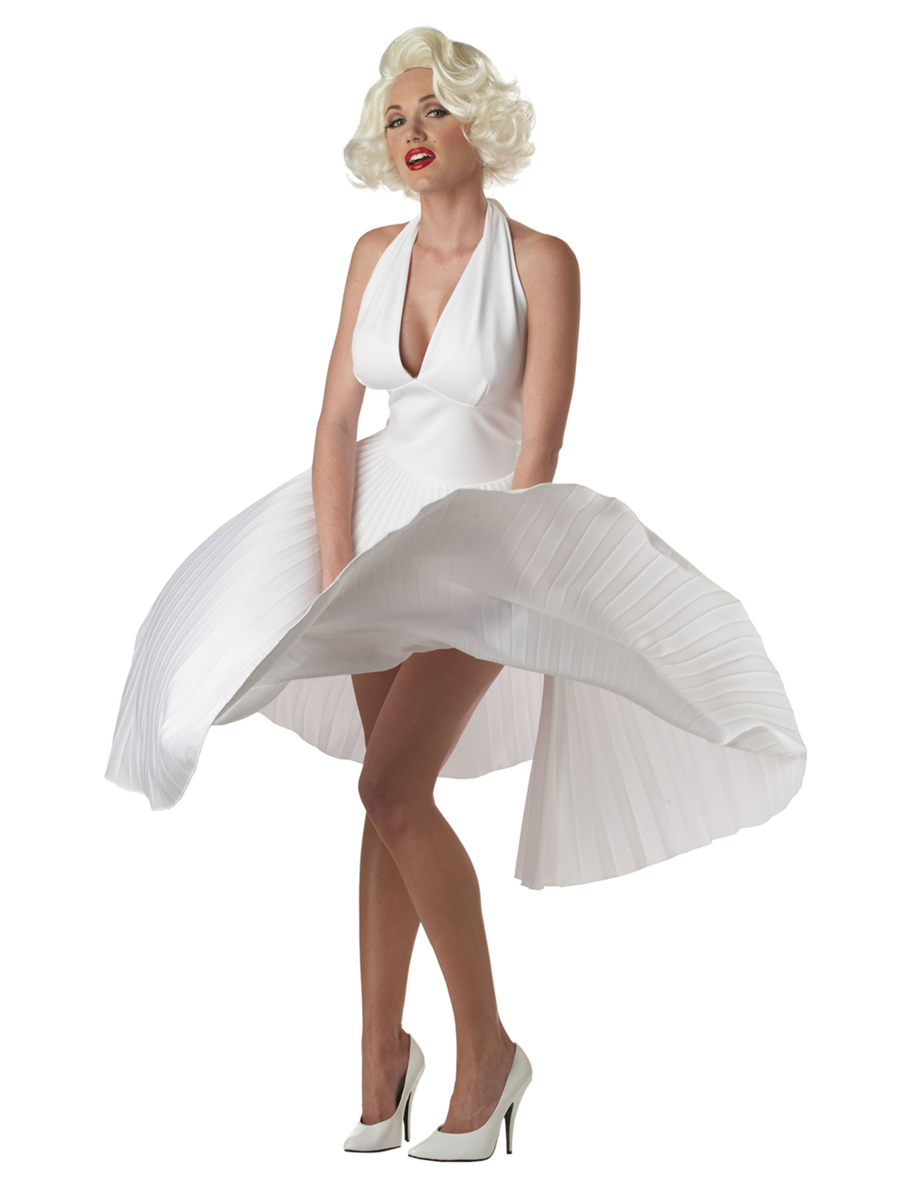 De Luxe Marilyn-Kostüm für Damen - M (40/42) 81071