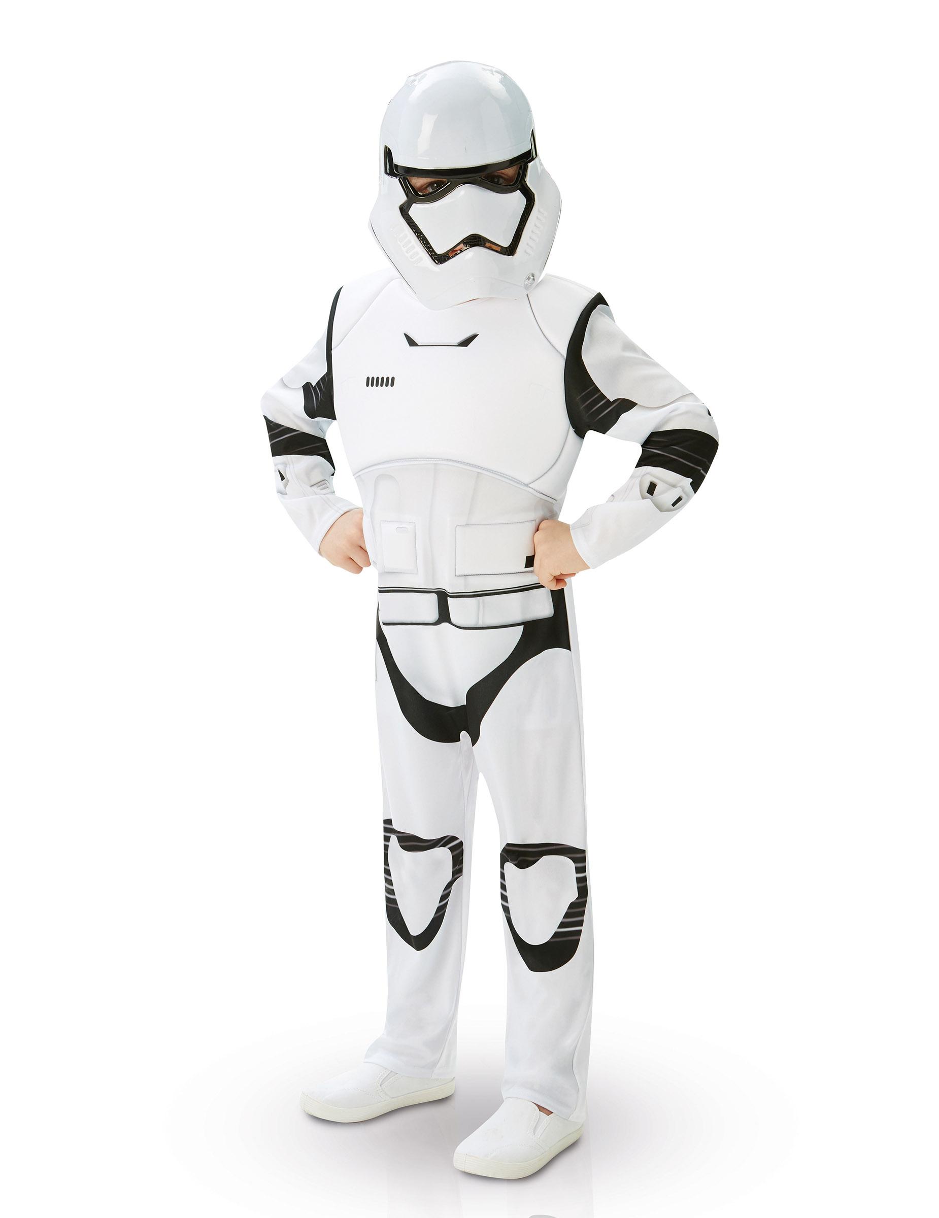 deluxe stormtrooper kost m f r kinder aus star wars vii. Black Bedroom Furniture Sets. Home Design Ideas
