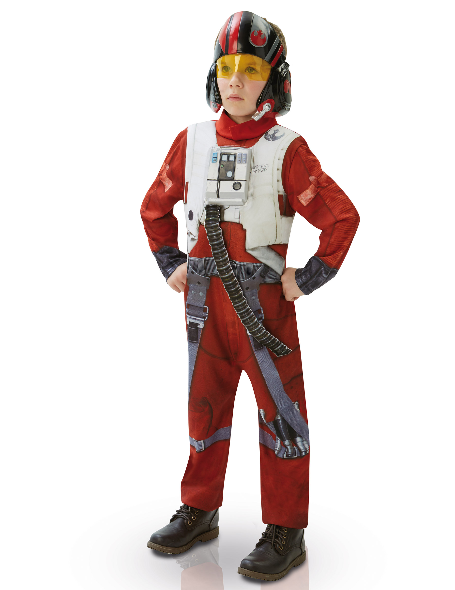 hochwertiges kinderkost m der star wars vii figur poe dameron. Black Bedroom Furniture Sets. Home Design Ideas