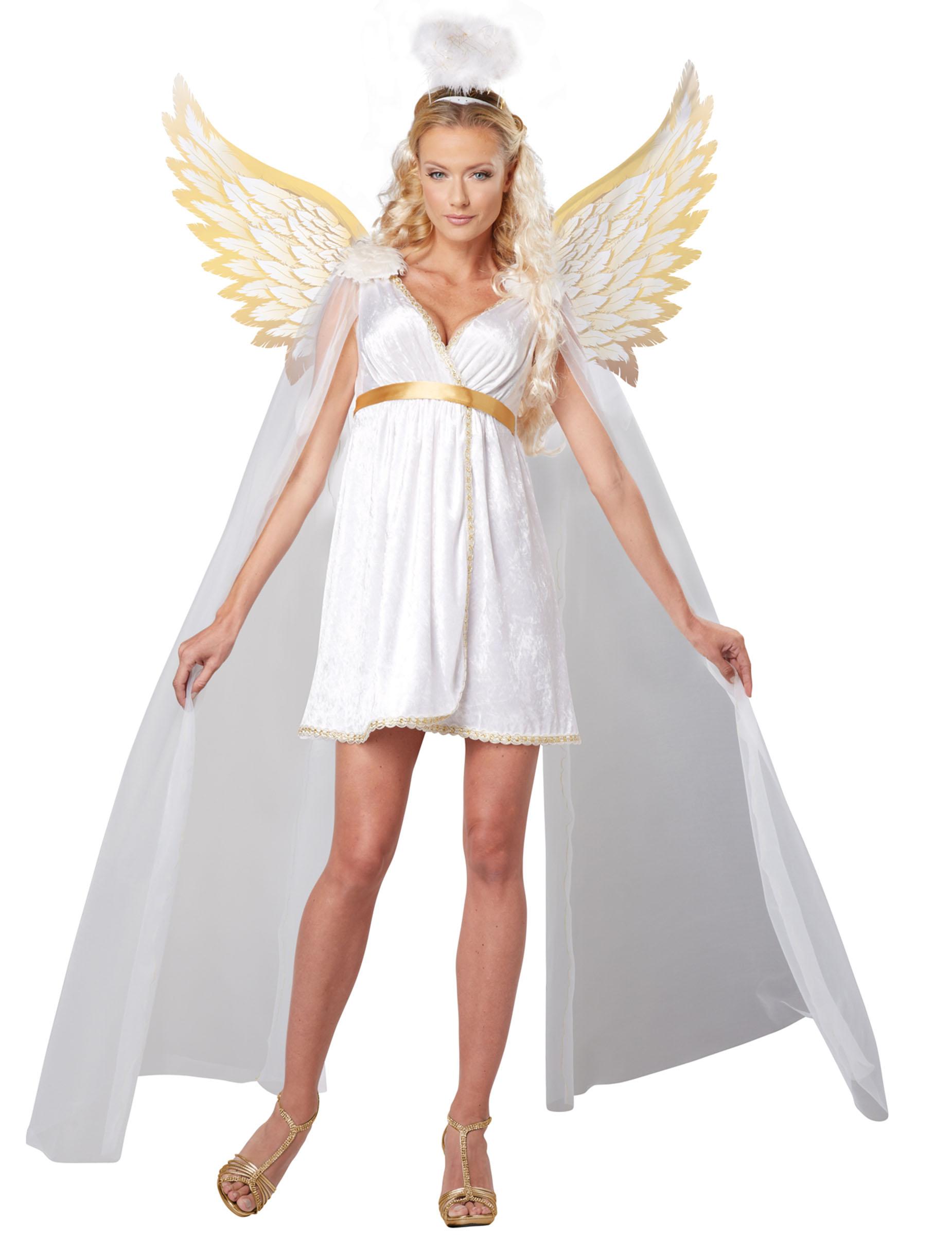 verkleidung strahlender engel f r frauen kost me f r. Black Bedroom Furniture Sets. Home Design Ideas