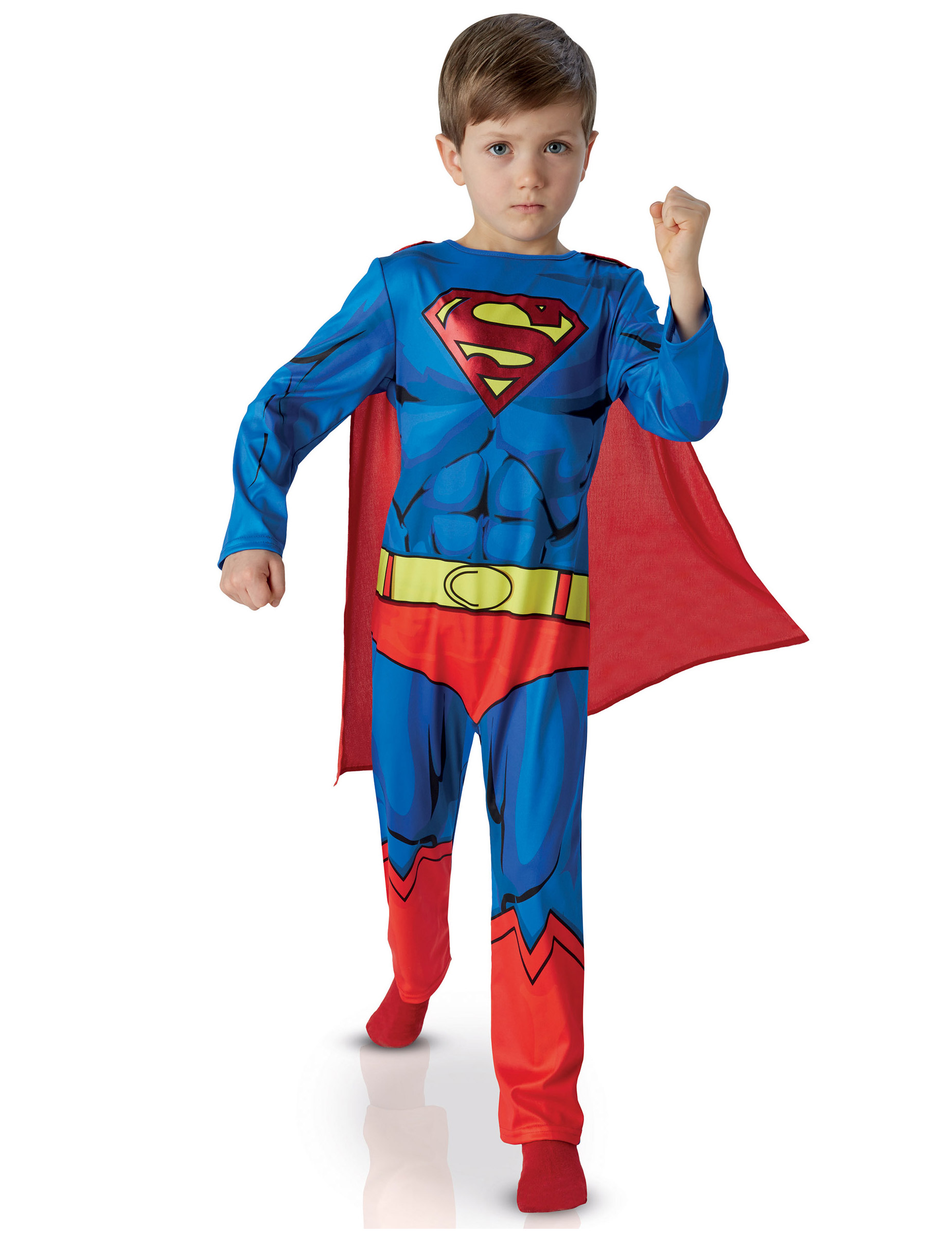 comic verkleidung superman f r kinder kost me f r kinder. Black Bedroom Furniture Sets. Home Design Ideas
