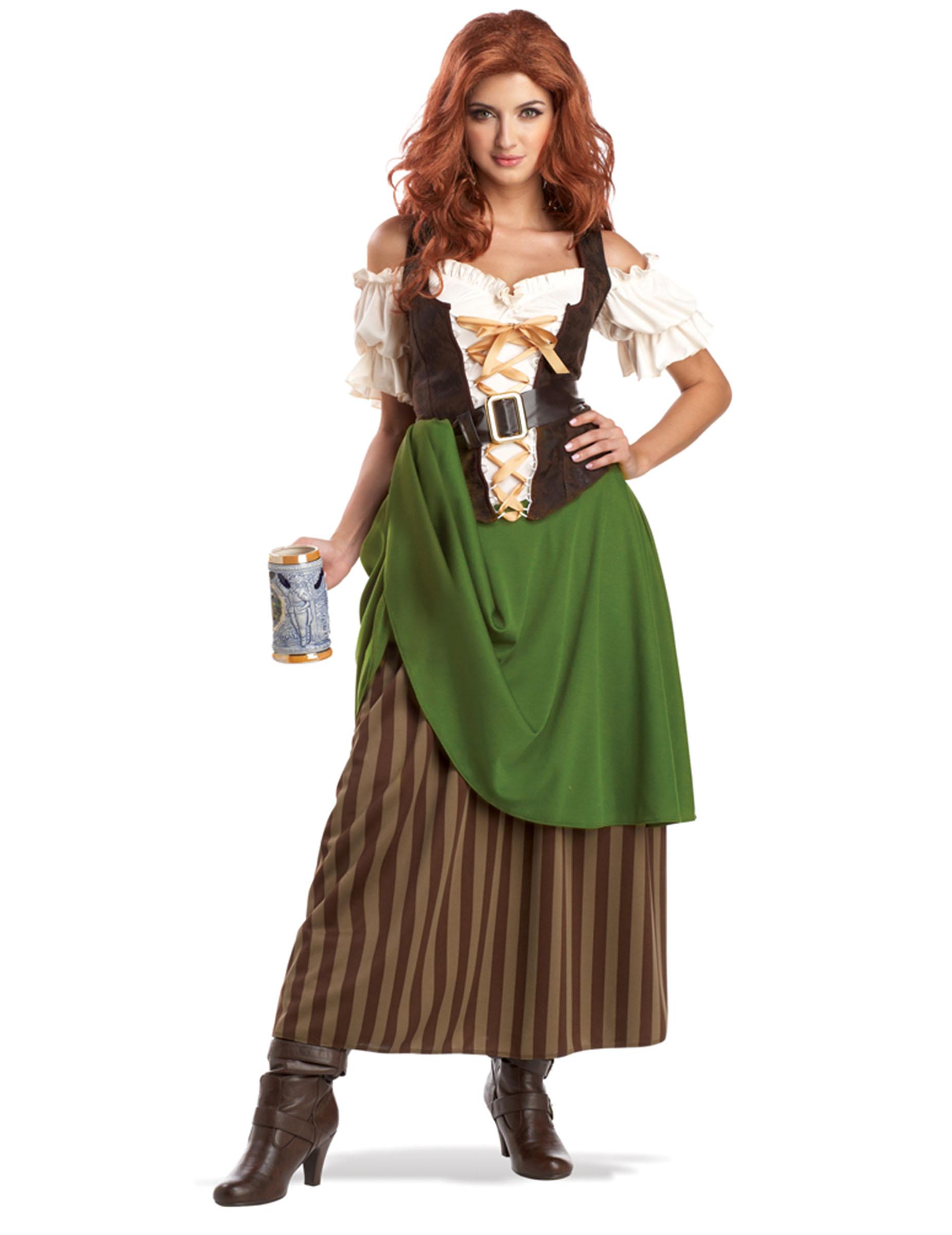 Kostüm bayerisches Madl für Damen - XL (44/46) 81388