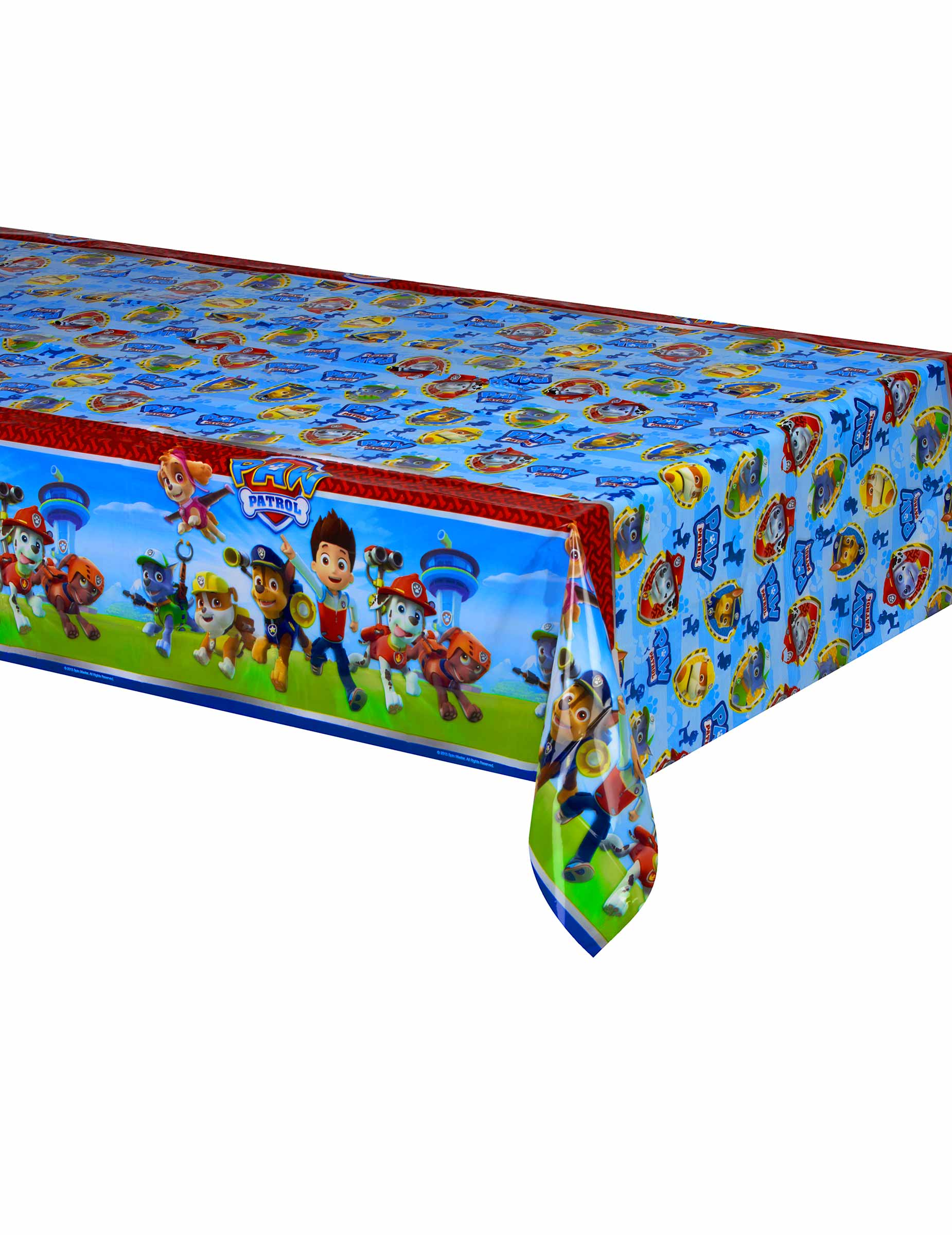 kunststoff tischdecke paw patrol 120 x 180 cm partydeko und g nstige faschingskost me vegaoo. Black Bedroom Furniture Sets. Home Design Ideas