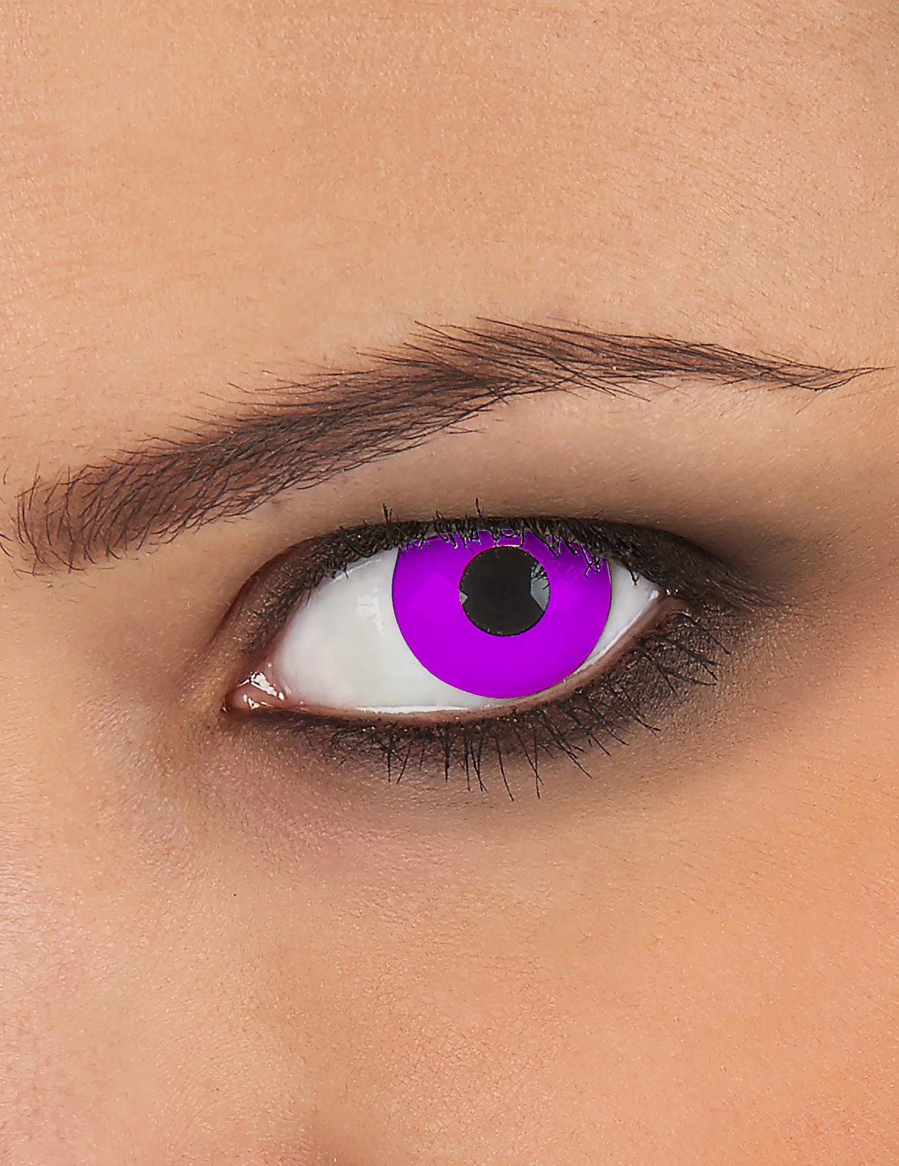 Violette Kontaktlinsen für Erwachsene 81948