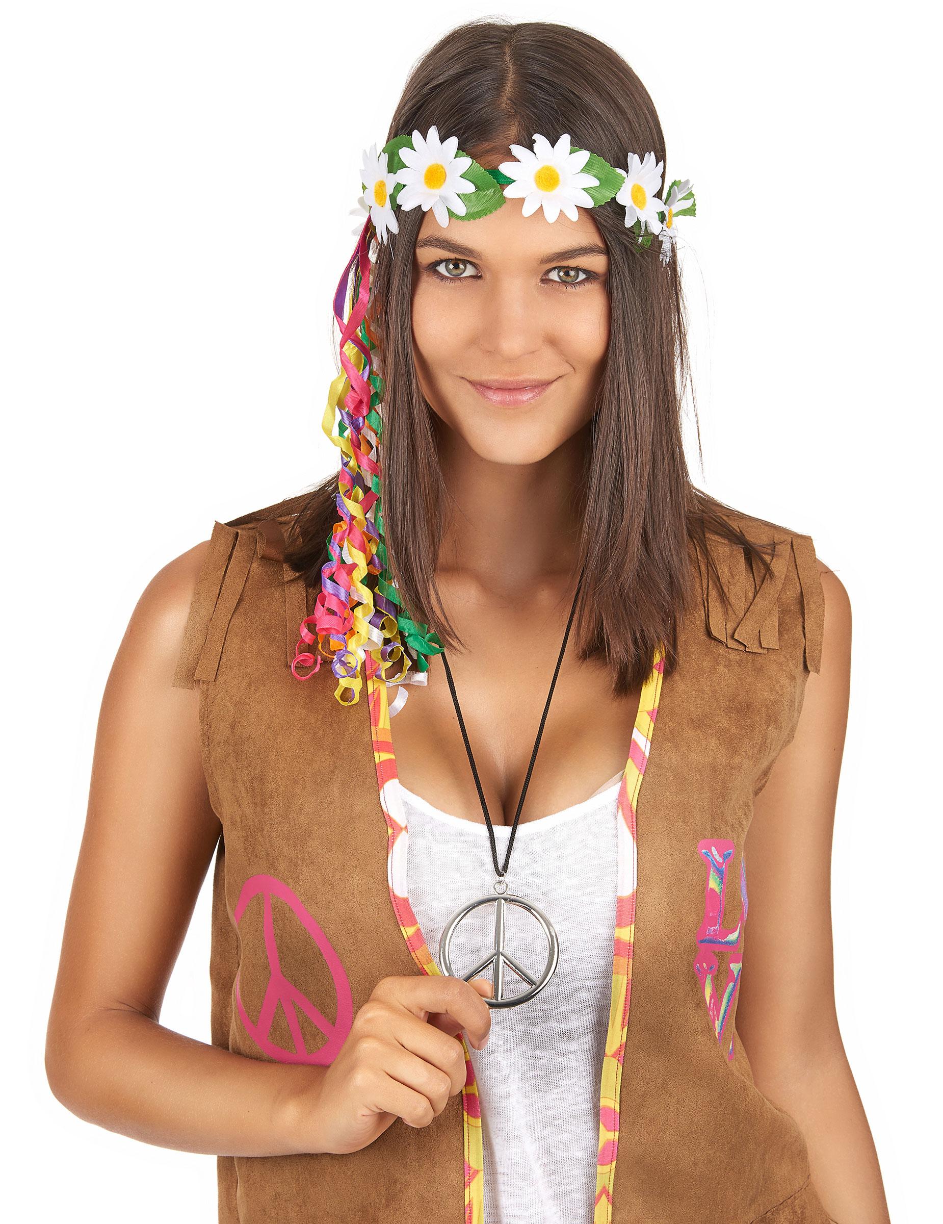 Hippie Kette Aus Metall F 252 R Erwachsene Accessoires Und