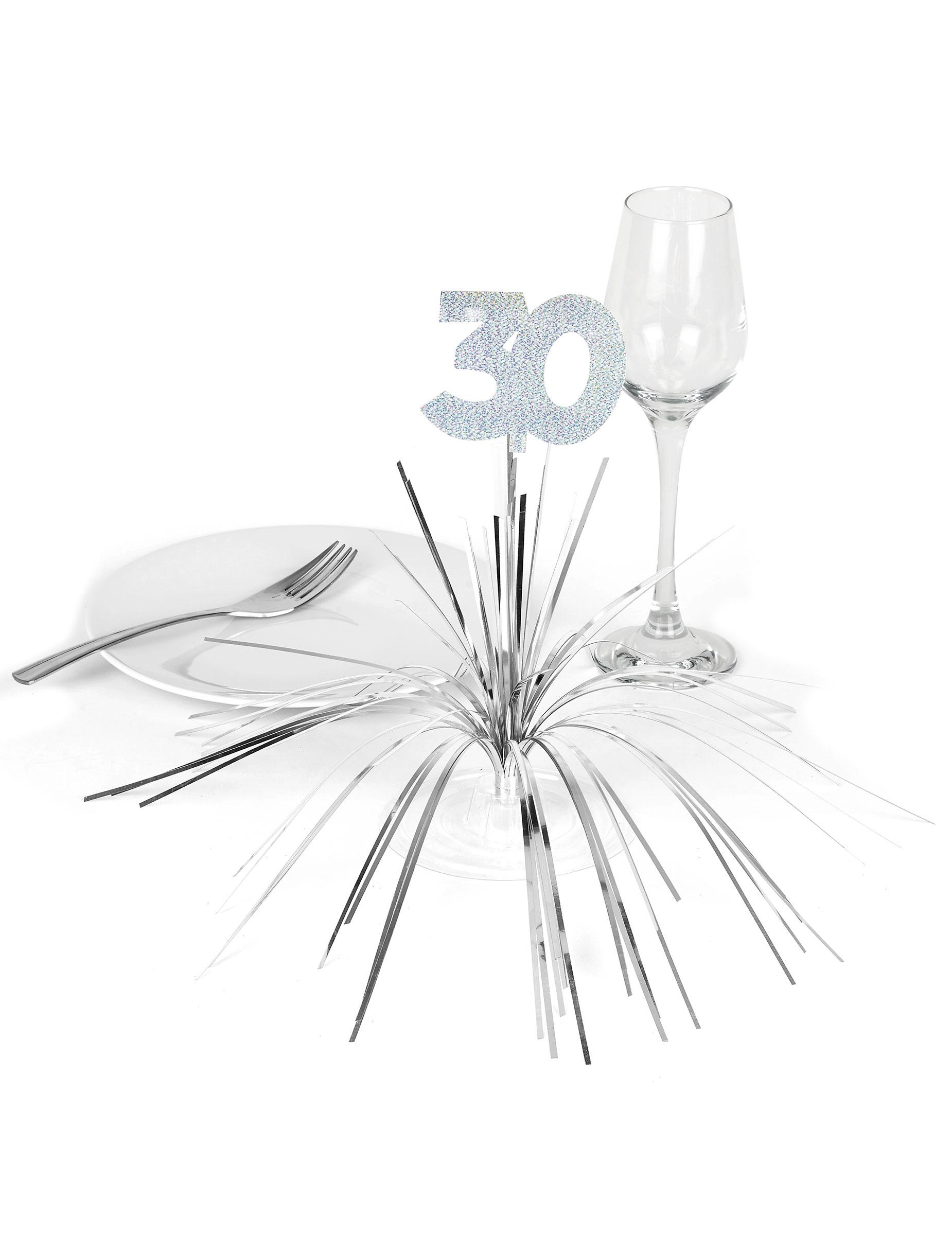 tischdekoration zum 30 geburtstag partydeko und g nstige. Black Bedroom Furniture Sets. Home Design Ideas