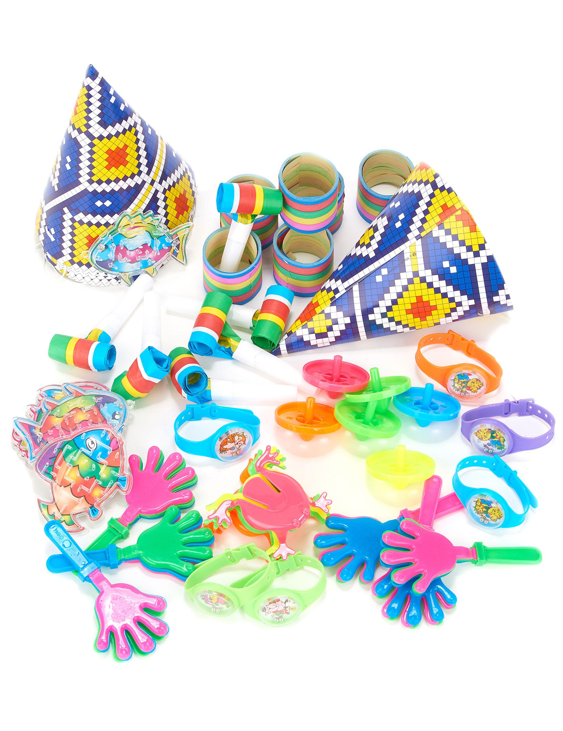 Party accessoire set f r 6 kinder partydeko und g nstige for Kinder party set