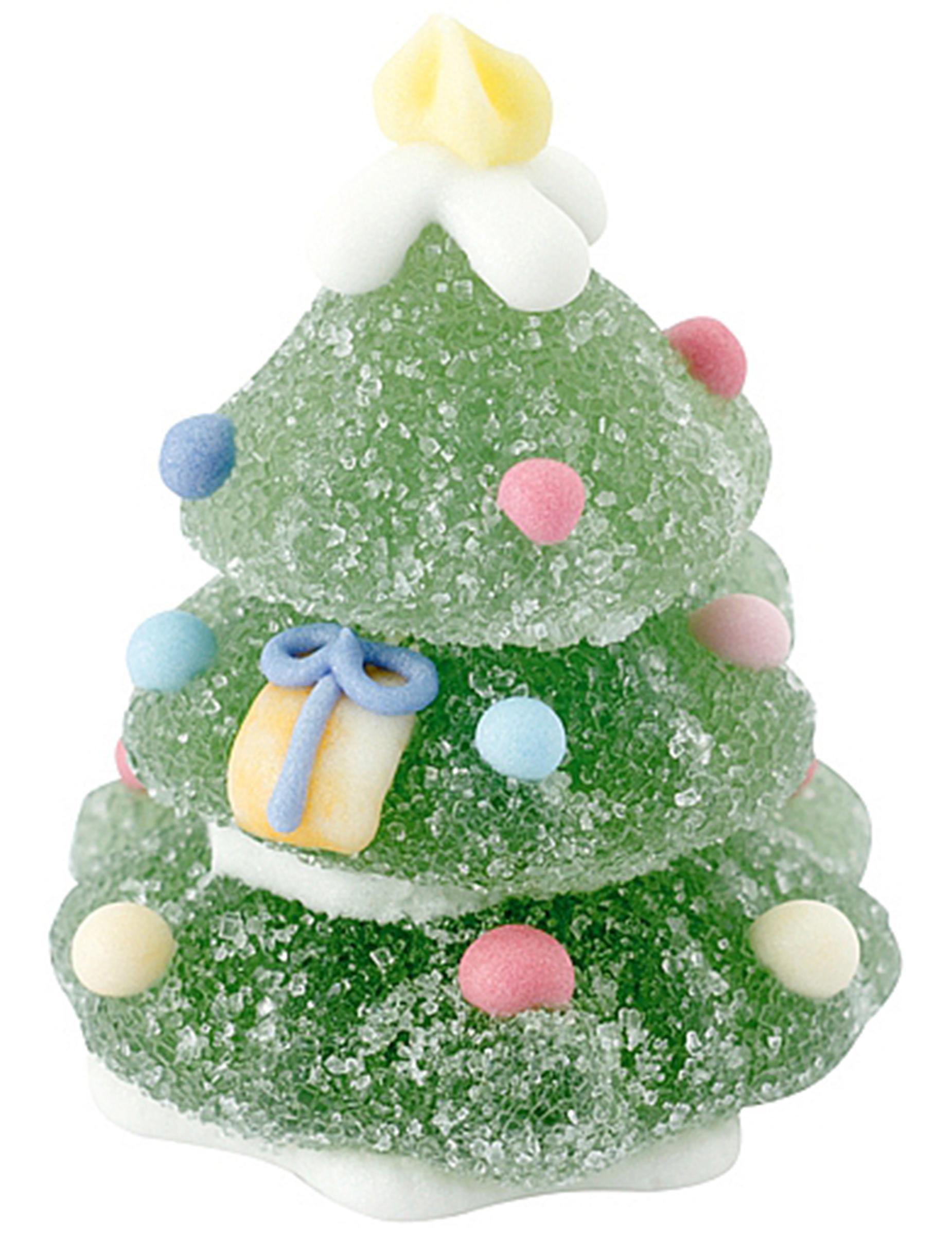 essbarer weihnachtsbaum aus gelatine und zucker. Black Bedroom Furniture Sets. Home Design Ideas