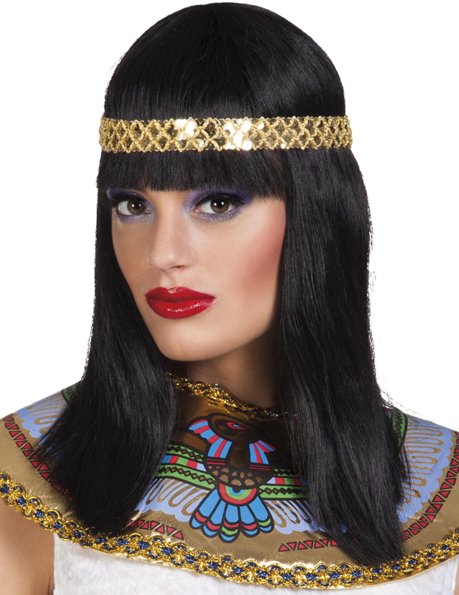 Kleopatra Perücke für Damen 82778