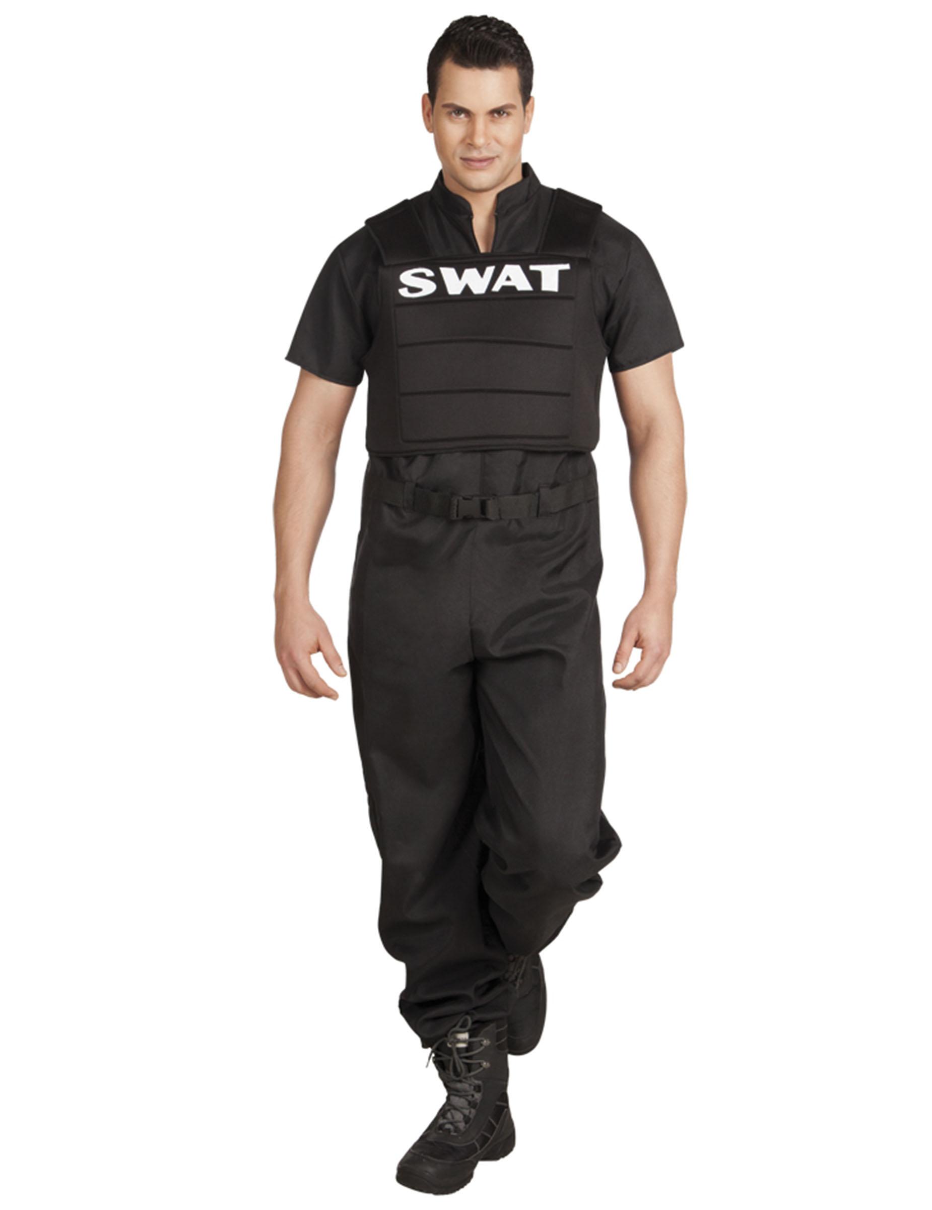verkleidung swat f r m nner kost me f r erwachsene und g nstige faschingskost me vegaoo. Black Bedroom Furniture Sets. Home Design Ideas