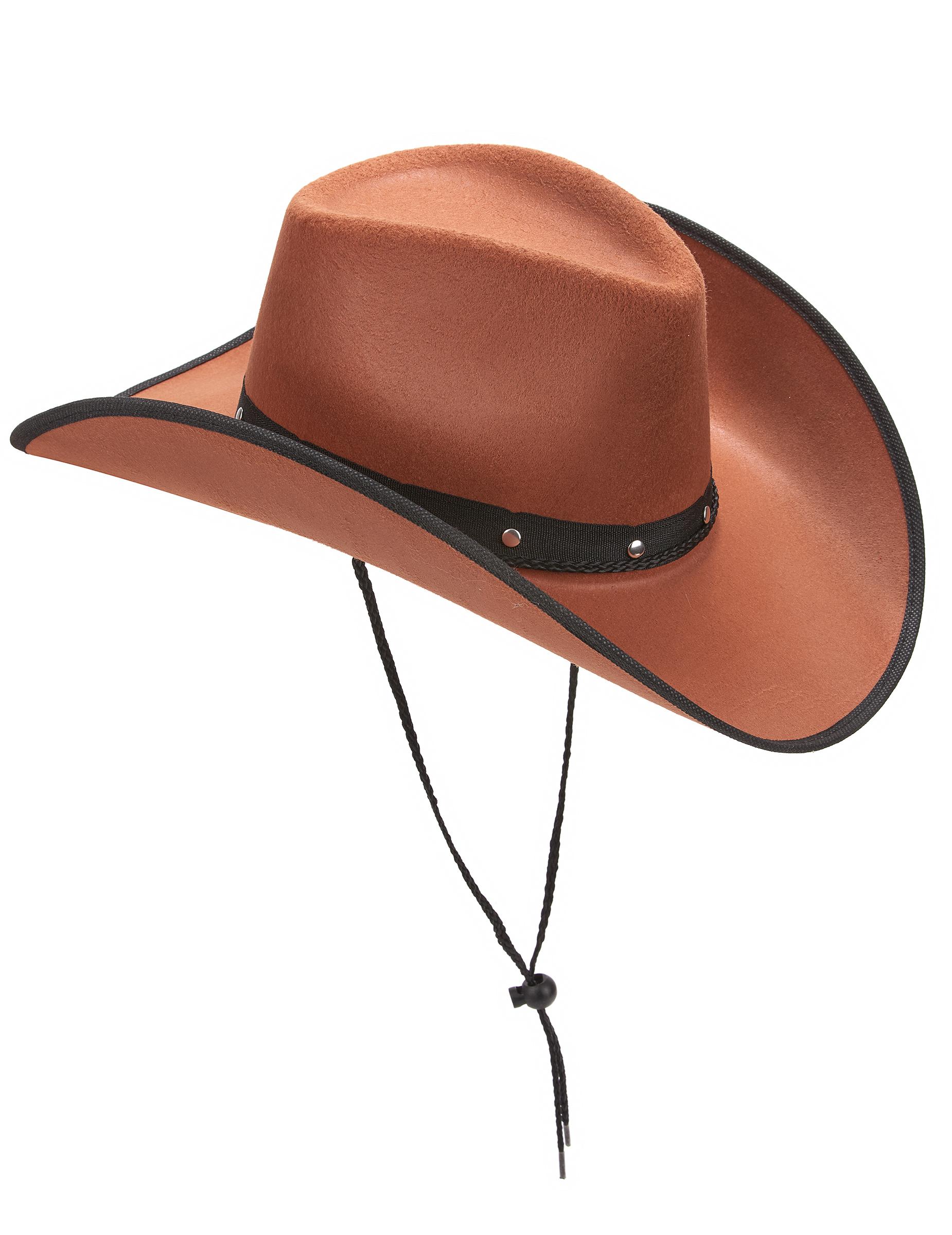 akribische Färbeprozesse aliexpress am modischsten Brauner Cowboy-Hut für Herren