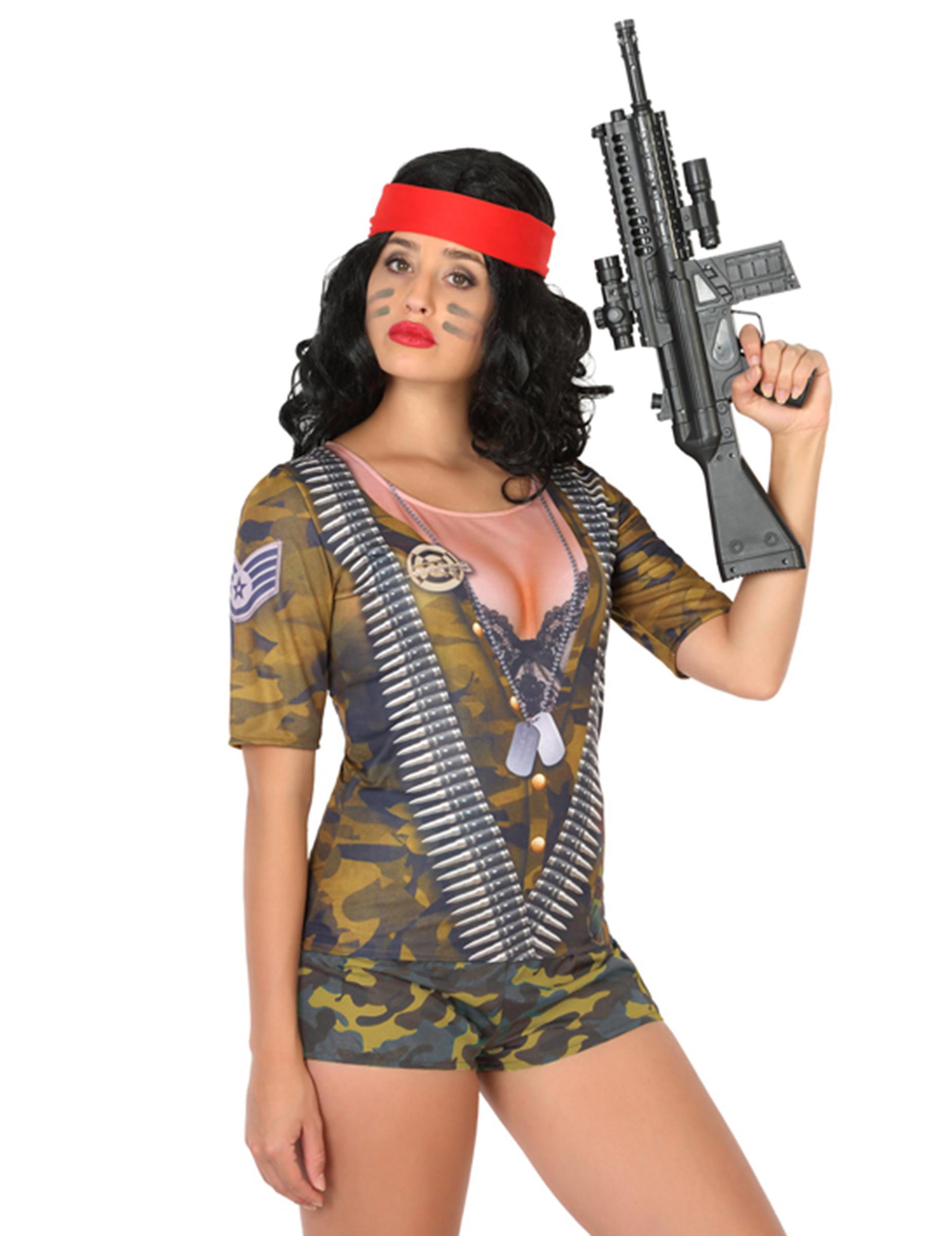 Soldaten T-Shirt für Damen - M / L 82838