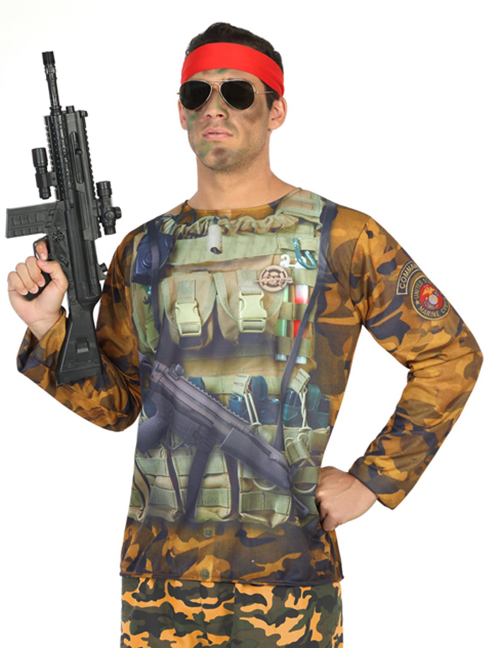 Soldaten T-Shirt für Herren - M / L 82839