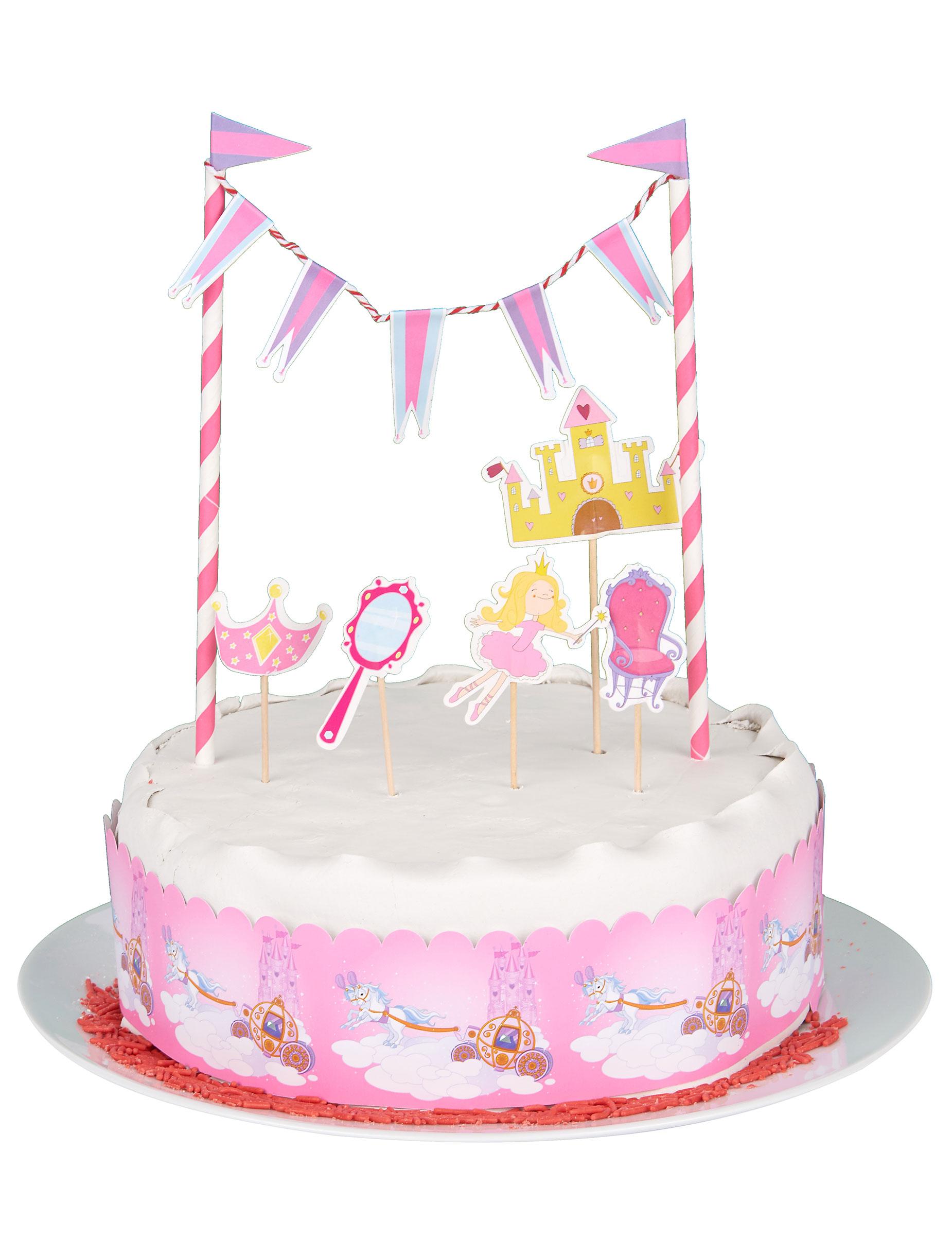 Kuchen Dekoration Prinzessin Partydeko Und Gunstige