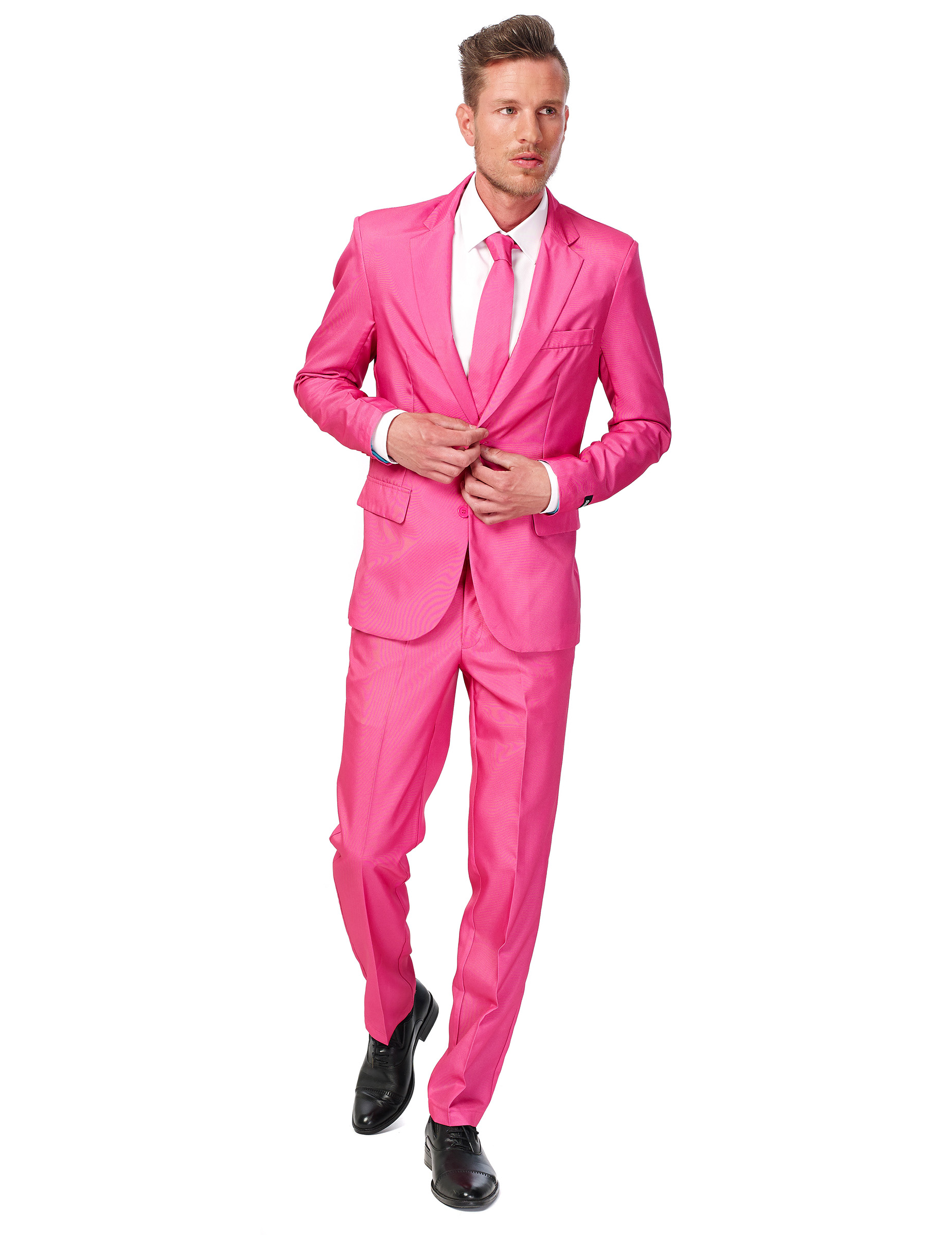 schicker pinker anzug von suitmeister. Black Bedroom Furniture Sets. Home Design Ideas