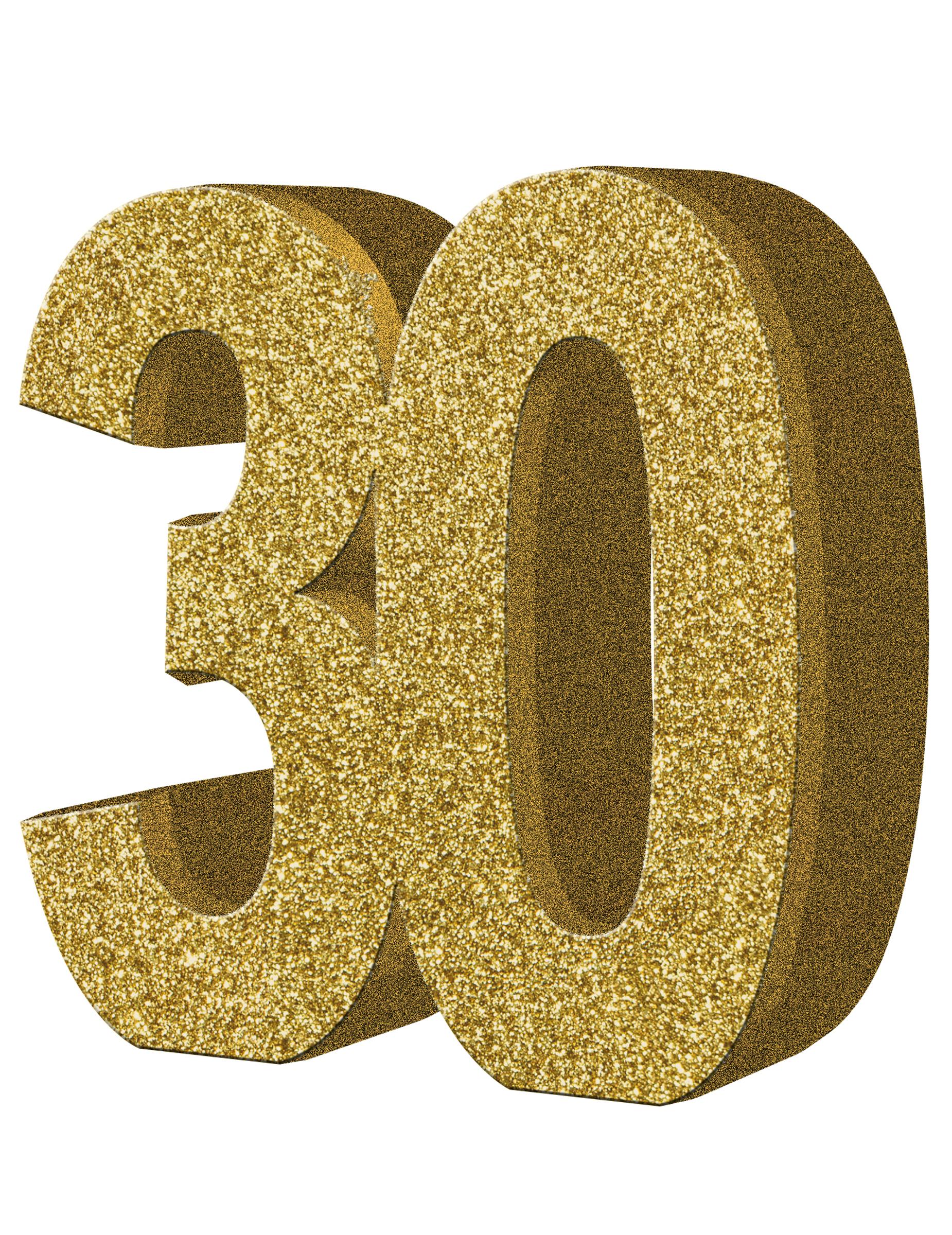 Dekoration Fur Den Tisch Zum 30 Geburtstag 20 X 20 Cm Partydeko